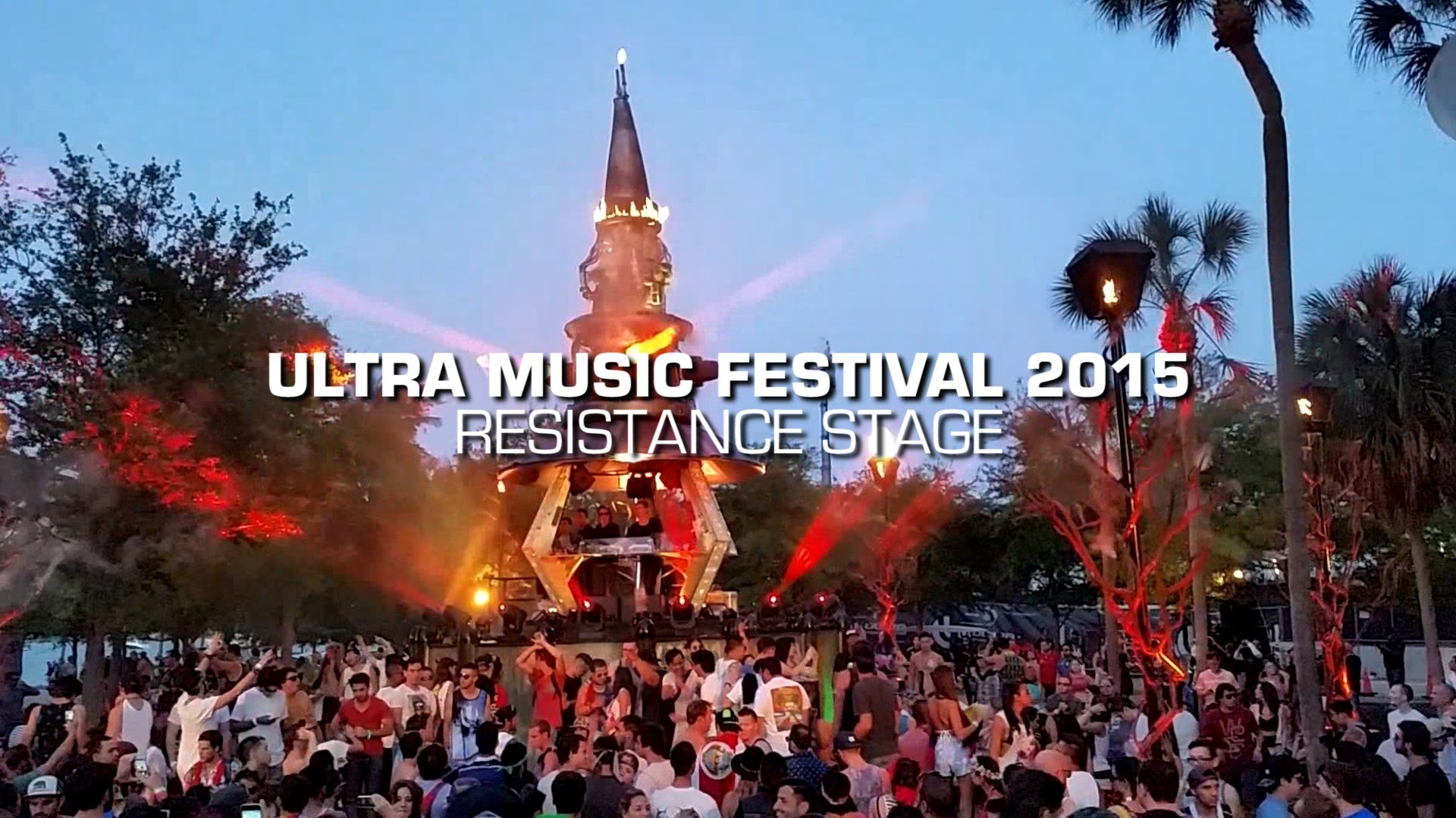 2015 Ultra Music Festival – Resistance Stage by Arcadia Spectacular –  YouTube