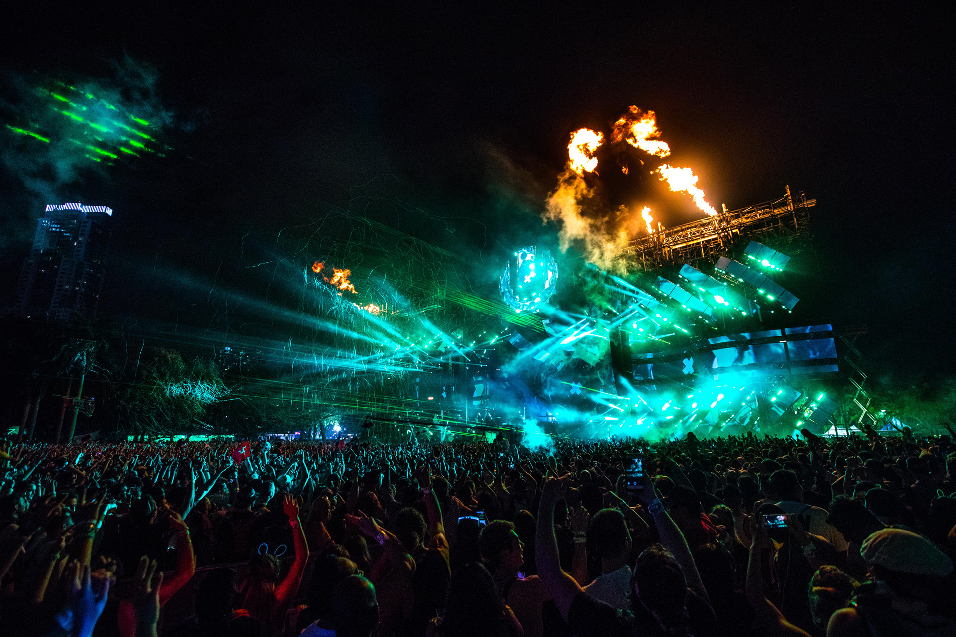 … electronic music fans dream and summoned thousands of festival  fanatics, industry personnel, and music lovers ready for three days of  nonstop music.