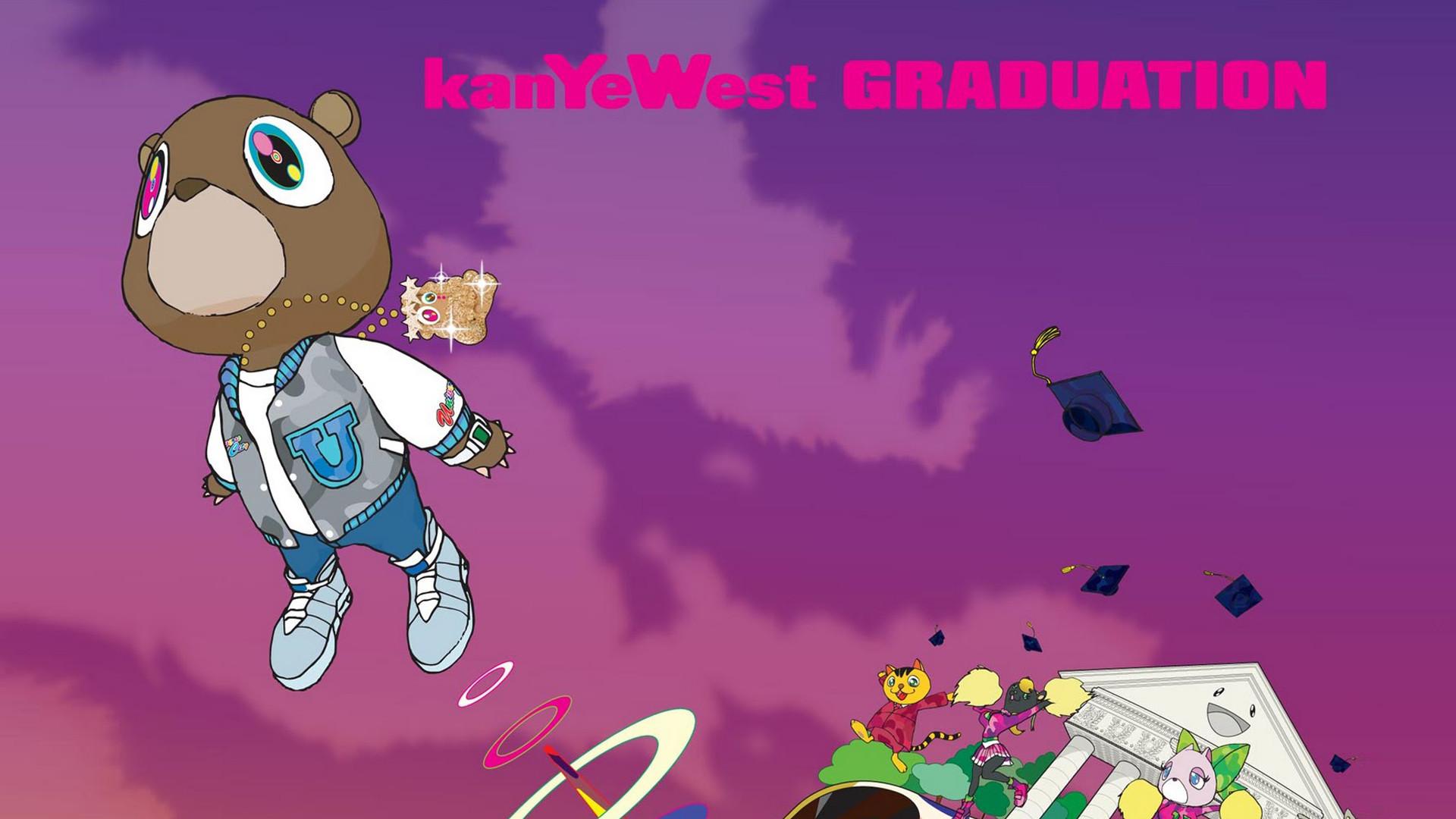 [1920×1080] [Kanye West] Graduation …