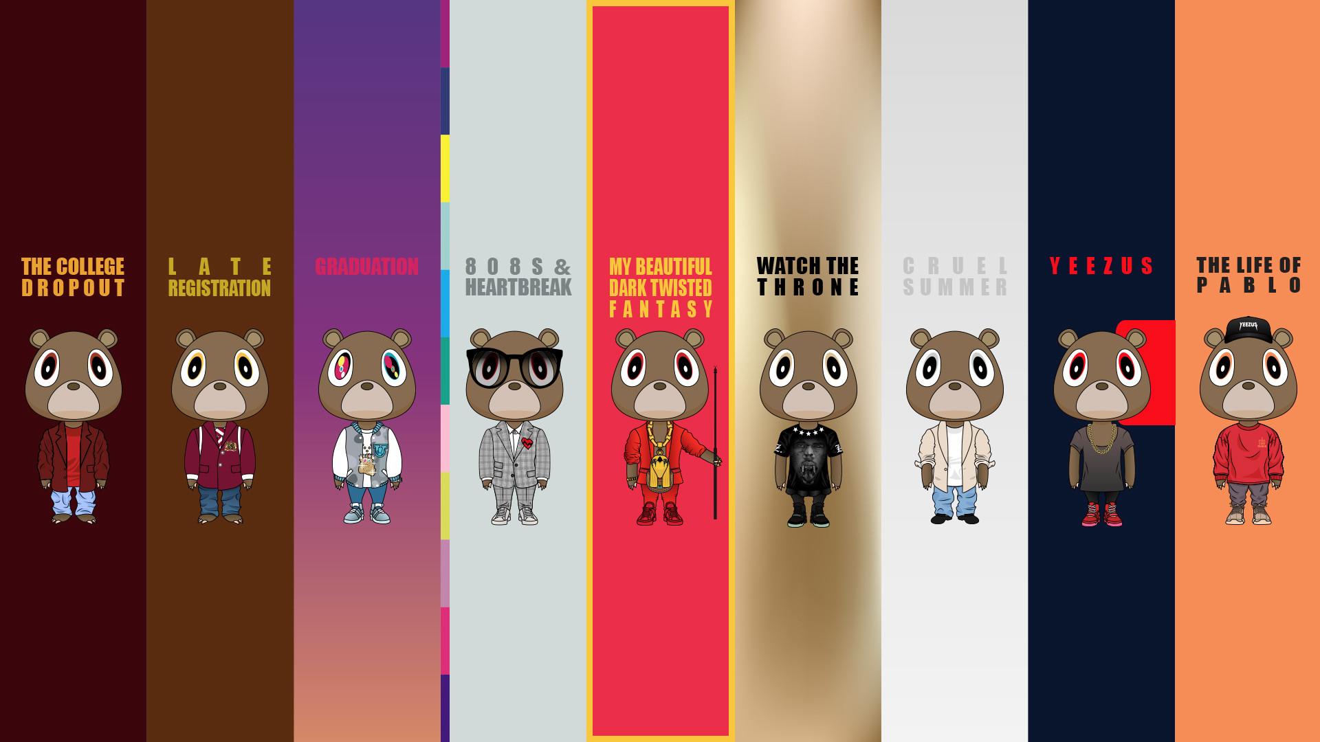 Kanye West Graduation Wallpaper