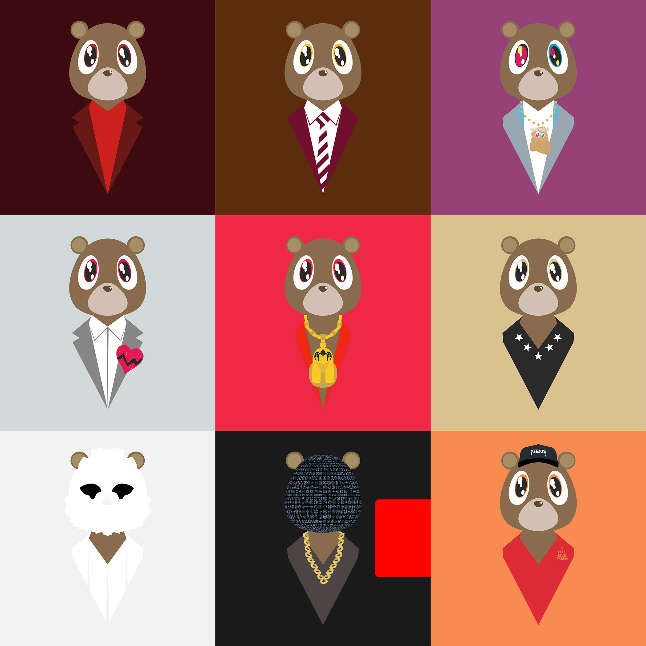 Degausser's Dropout Bears + Other (Finally Updated) Â« Kanye West Forum