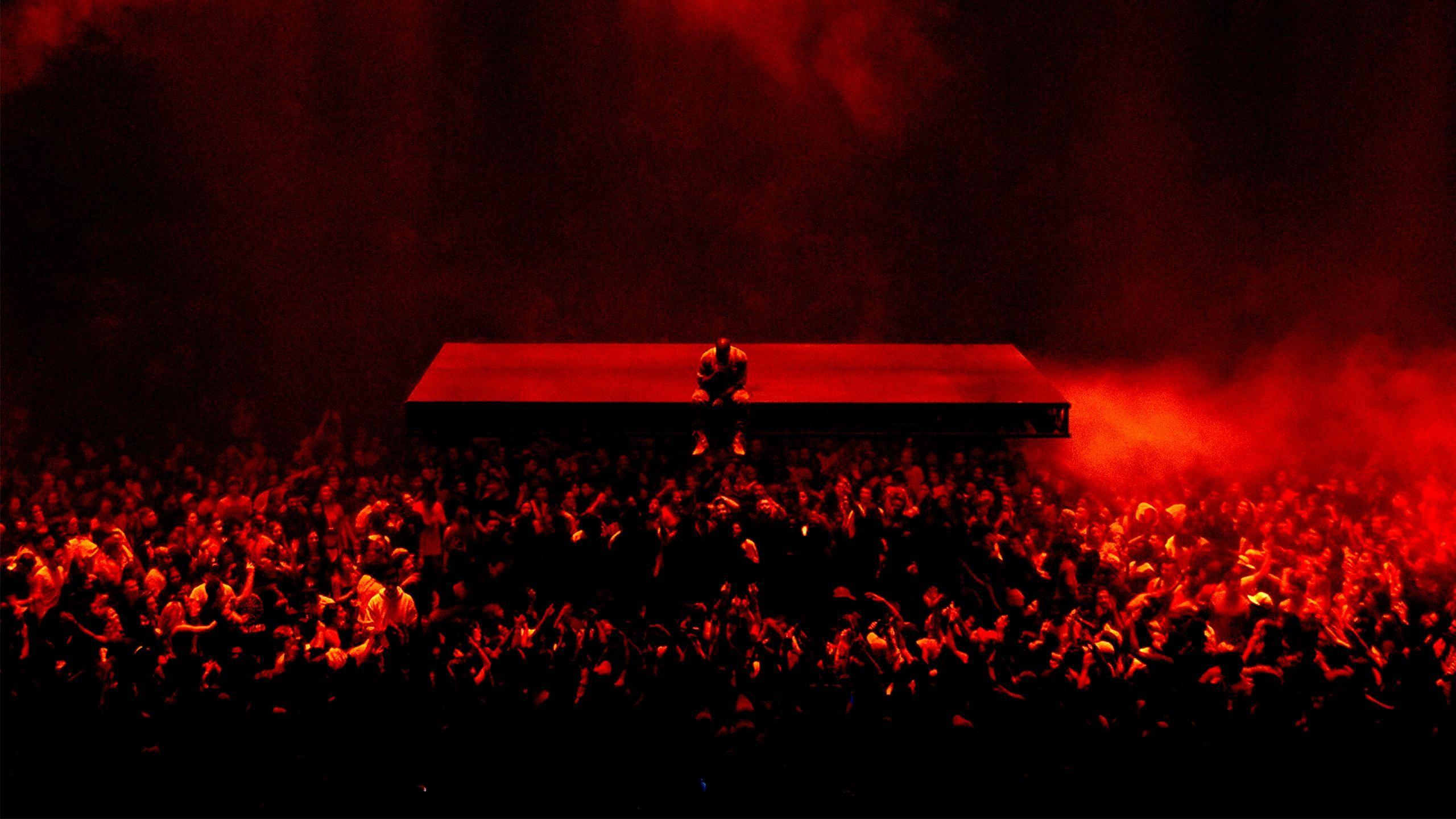 Kanye West tour wallpaper I edited [2560×1440] …