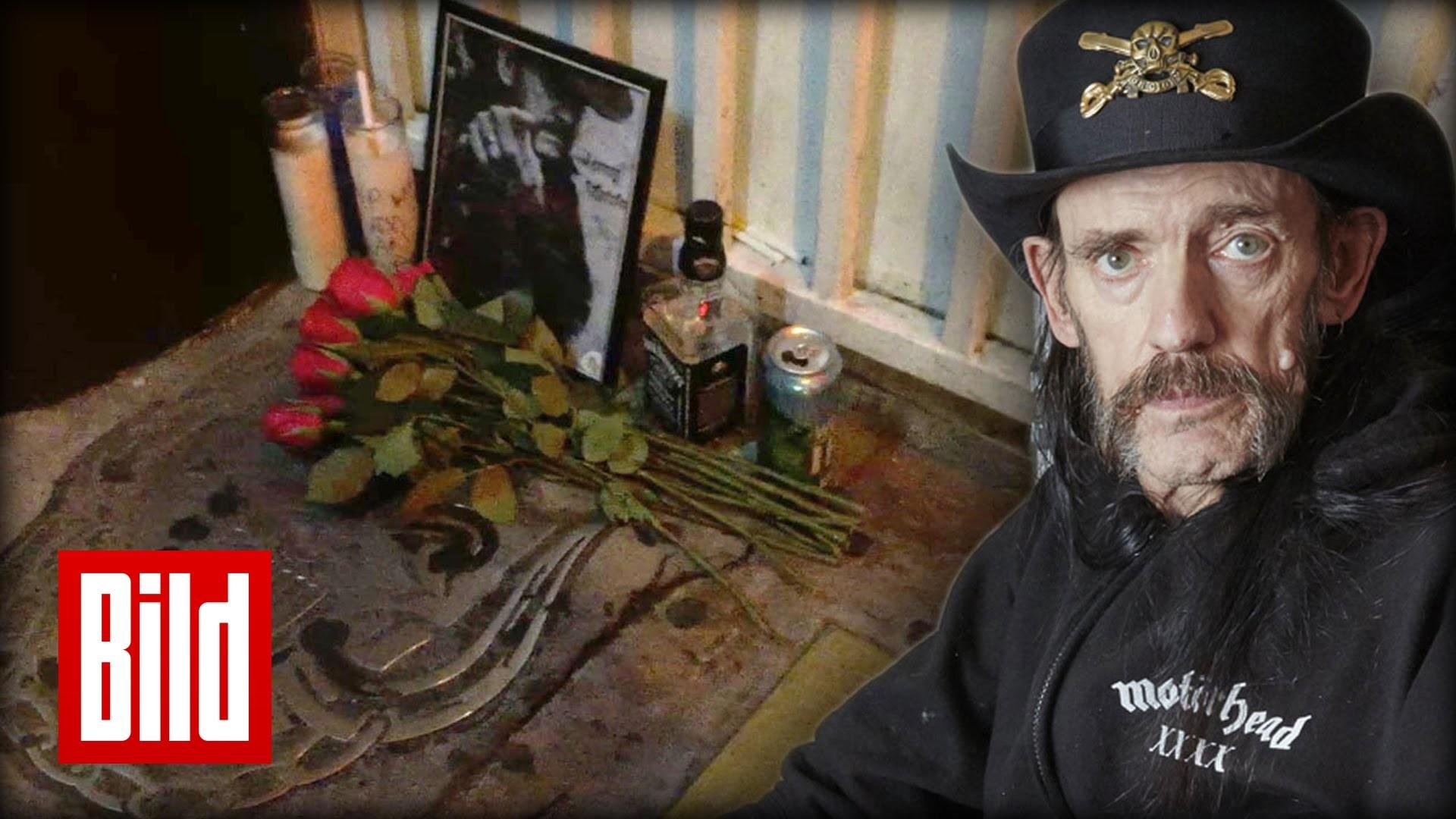 Lemmy Kilmister gestorben (†70) – Gäste seiner Stammbar trauern um Motörhead-Sänger  – YouTube