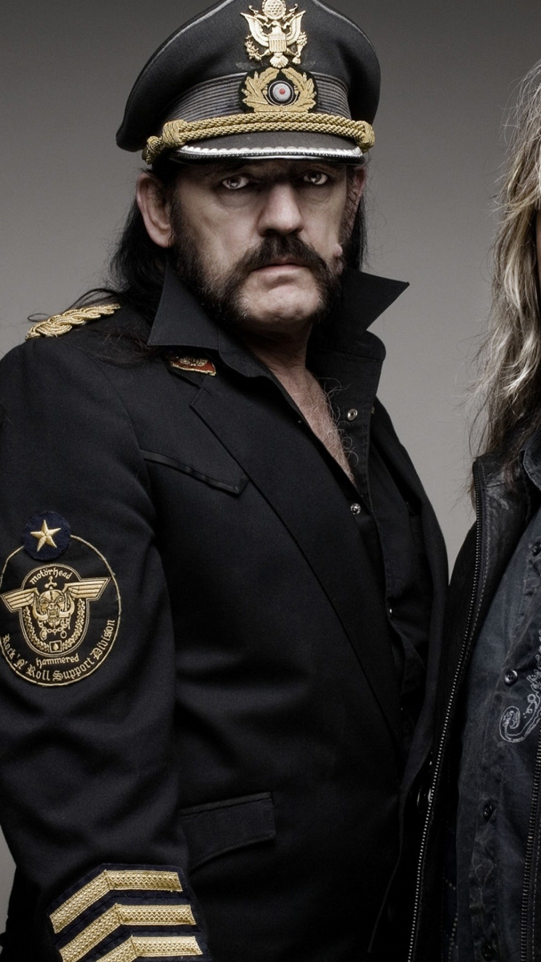 Preview wallpaper motorhead, band, look, photoset, image 1080×1920