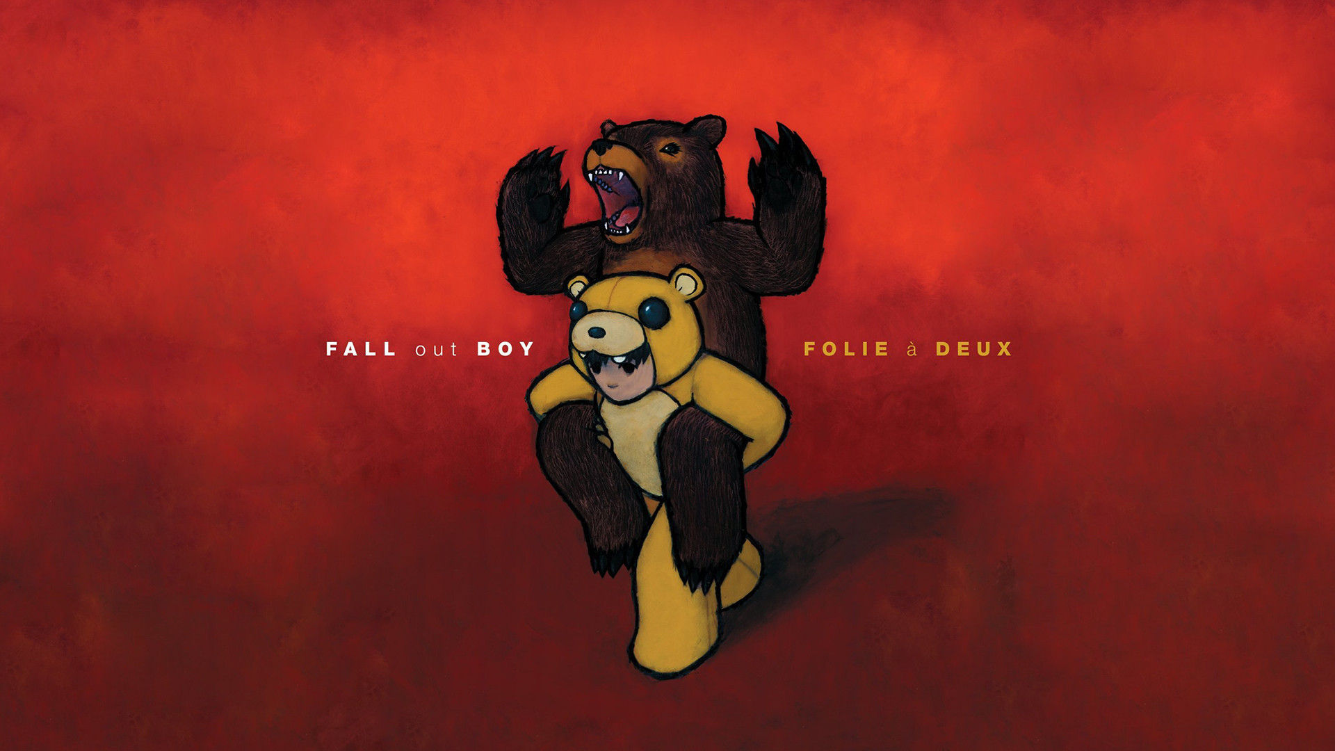 I made this Folie á Deux wallpaper because I couldn't find any in  1920×1080, was told to post it here. How do you guys like it? (x-post from  r/poppunkers) …