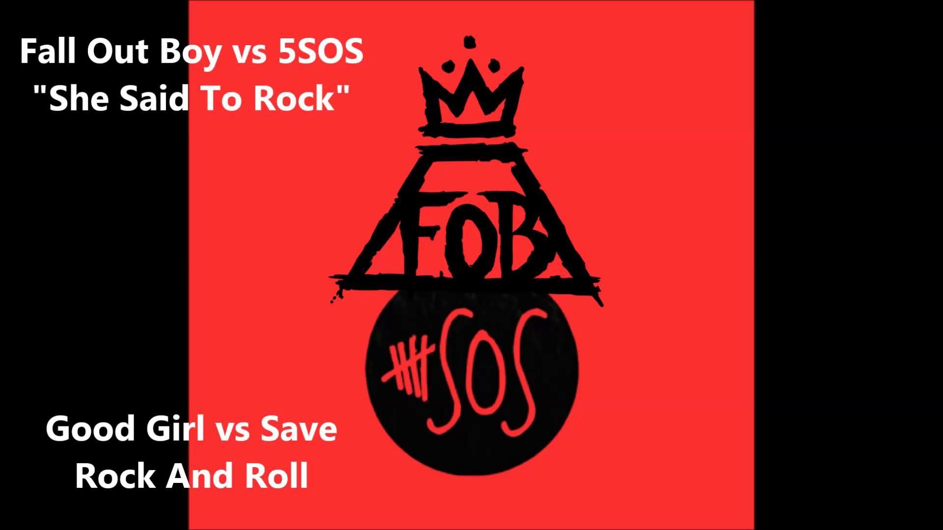 """She Said To Rock"" – Fall Out Boy vs 5SOS (Mashup)"