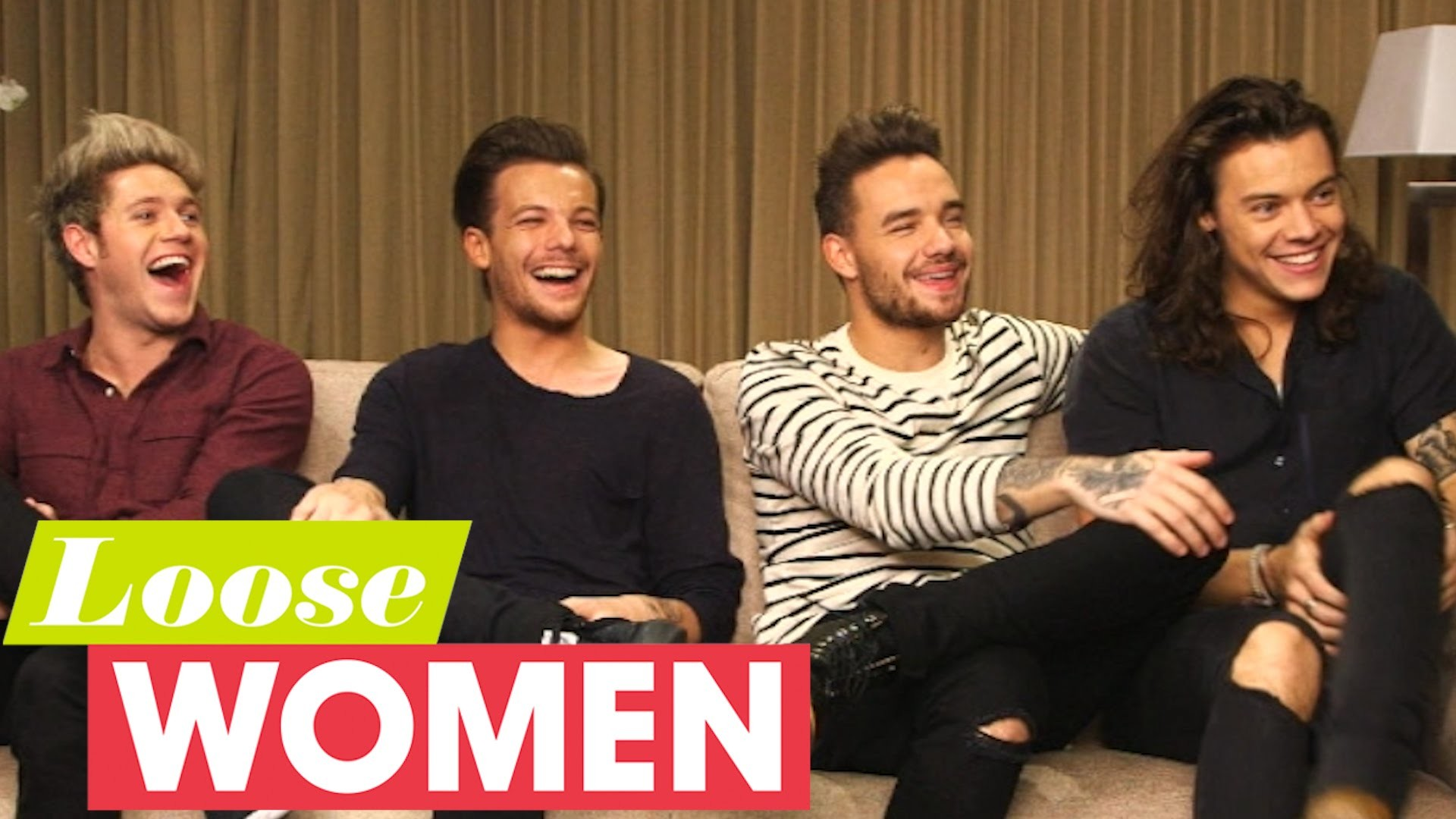 One Direction On Recording Made In The AM Without Zayn Malik | Loose Women  – YouTube