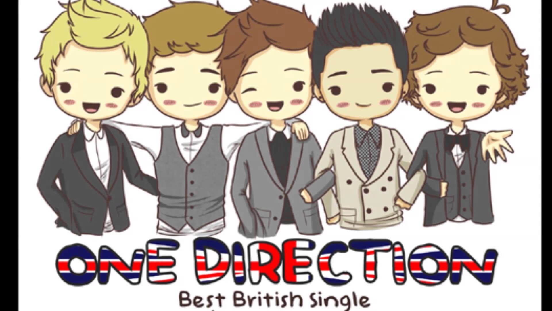 One Direction Cartoon Images | TheCelebrityPix
