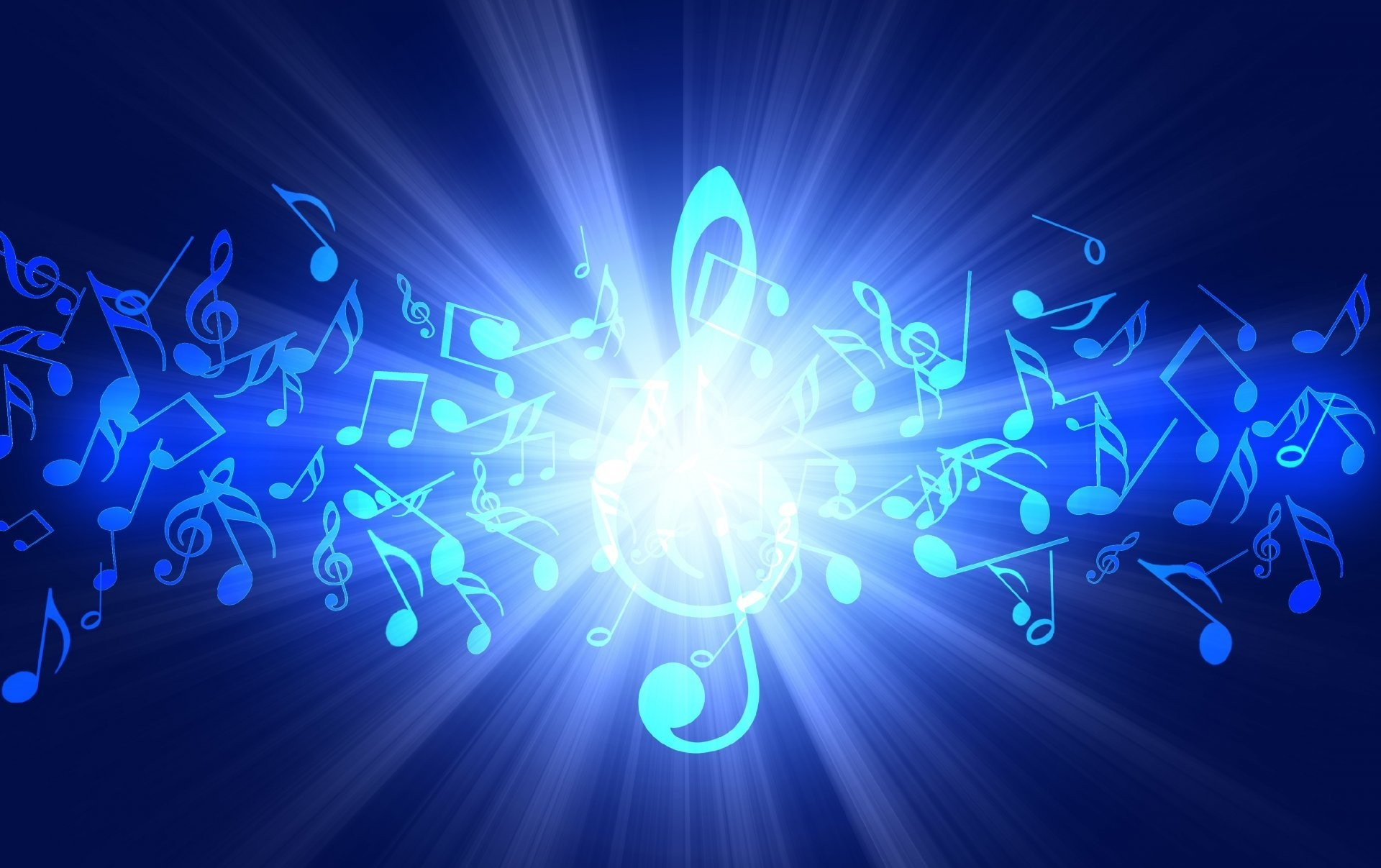 sound music notes treble clef