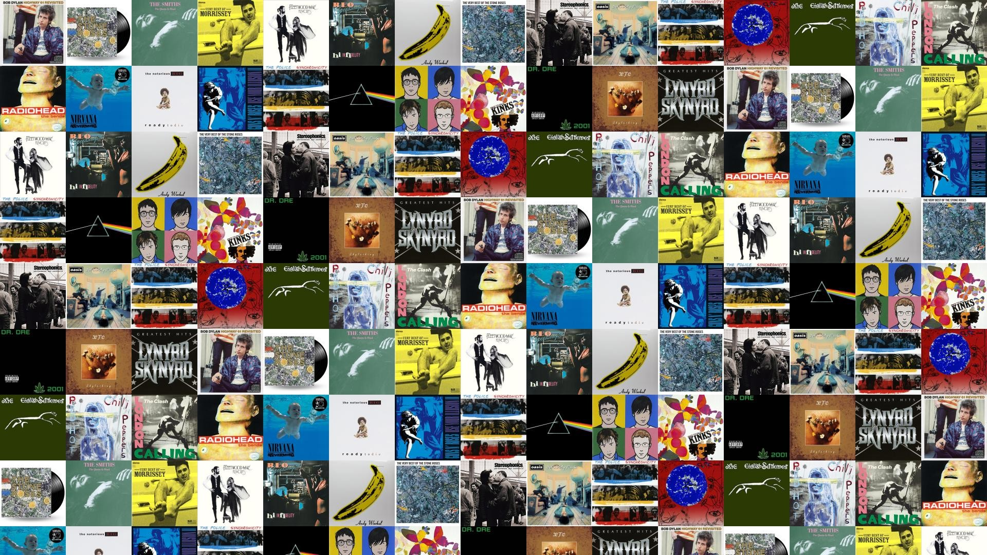 Download this free wallpaper with images of Stone Roses – Title, Stone  Roses – Stone Roses, The Smiths – Queen Is Dead, Morrissey – The Best Of,  …