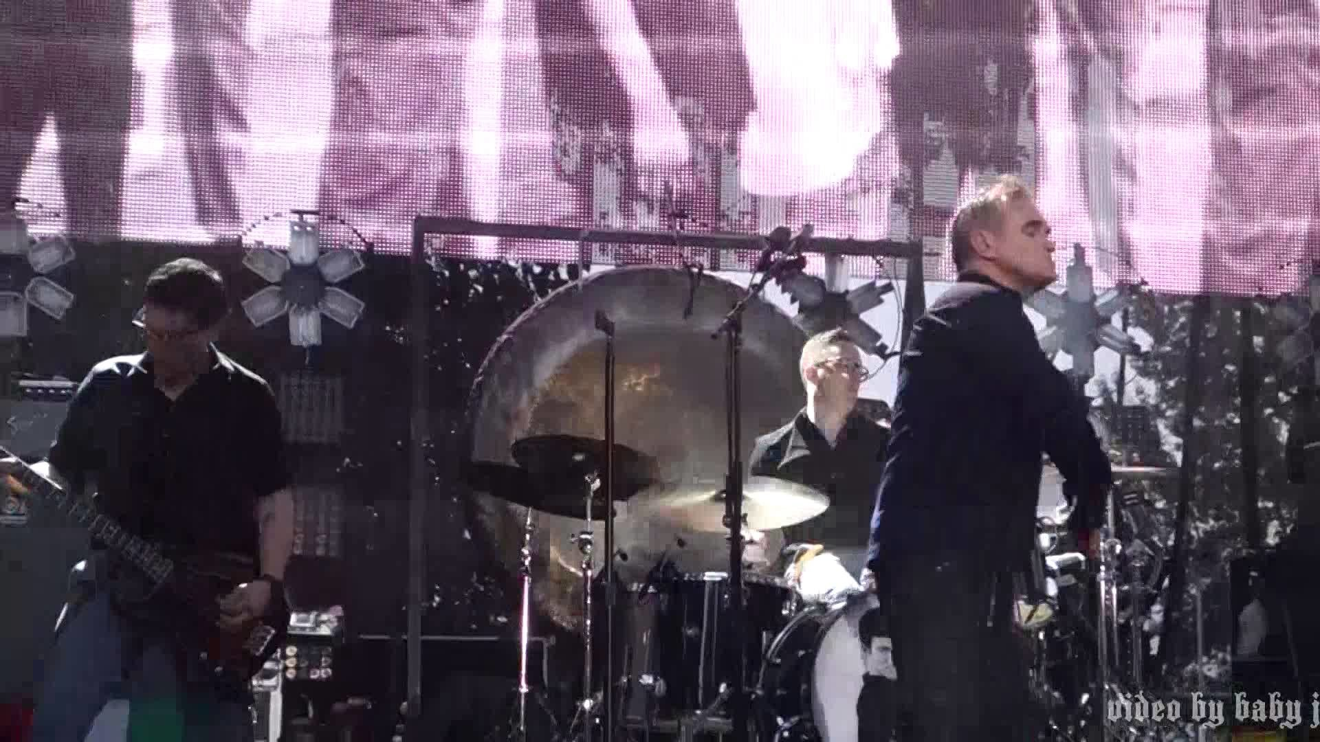 Morrissey-WHAT SHE SAID(The Smiths)-Live @ Edgefield, Troutdale, OR, July  23, 2015-MOZ