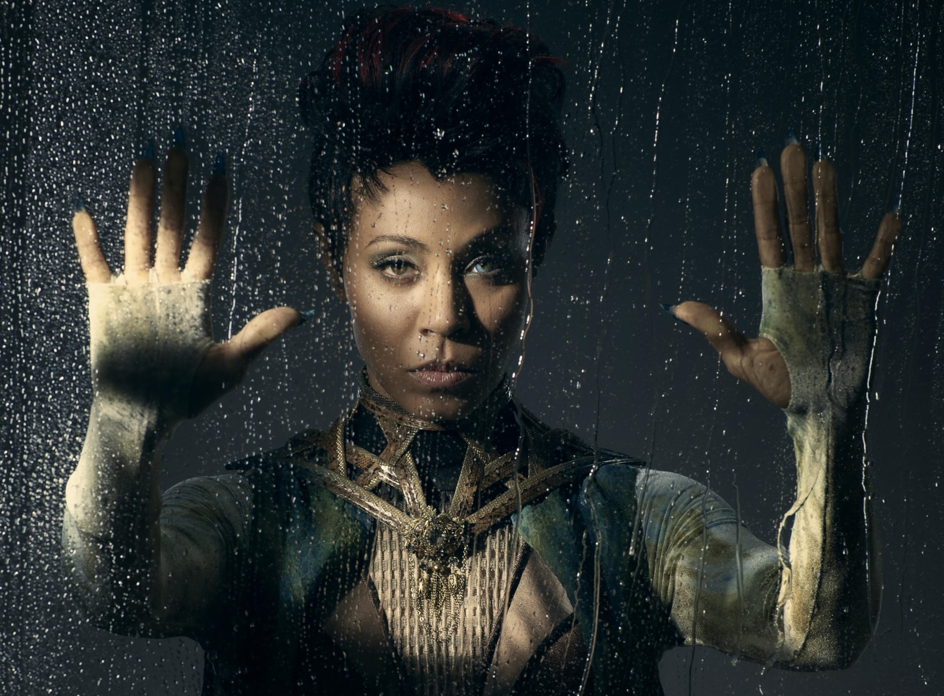 TV Show Gotham Gotham (TV Show) Fish Mooney Jada Pinkett Smith Wallpaper