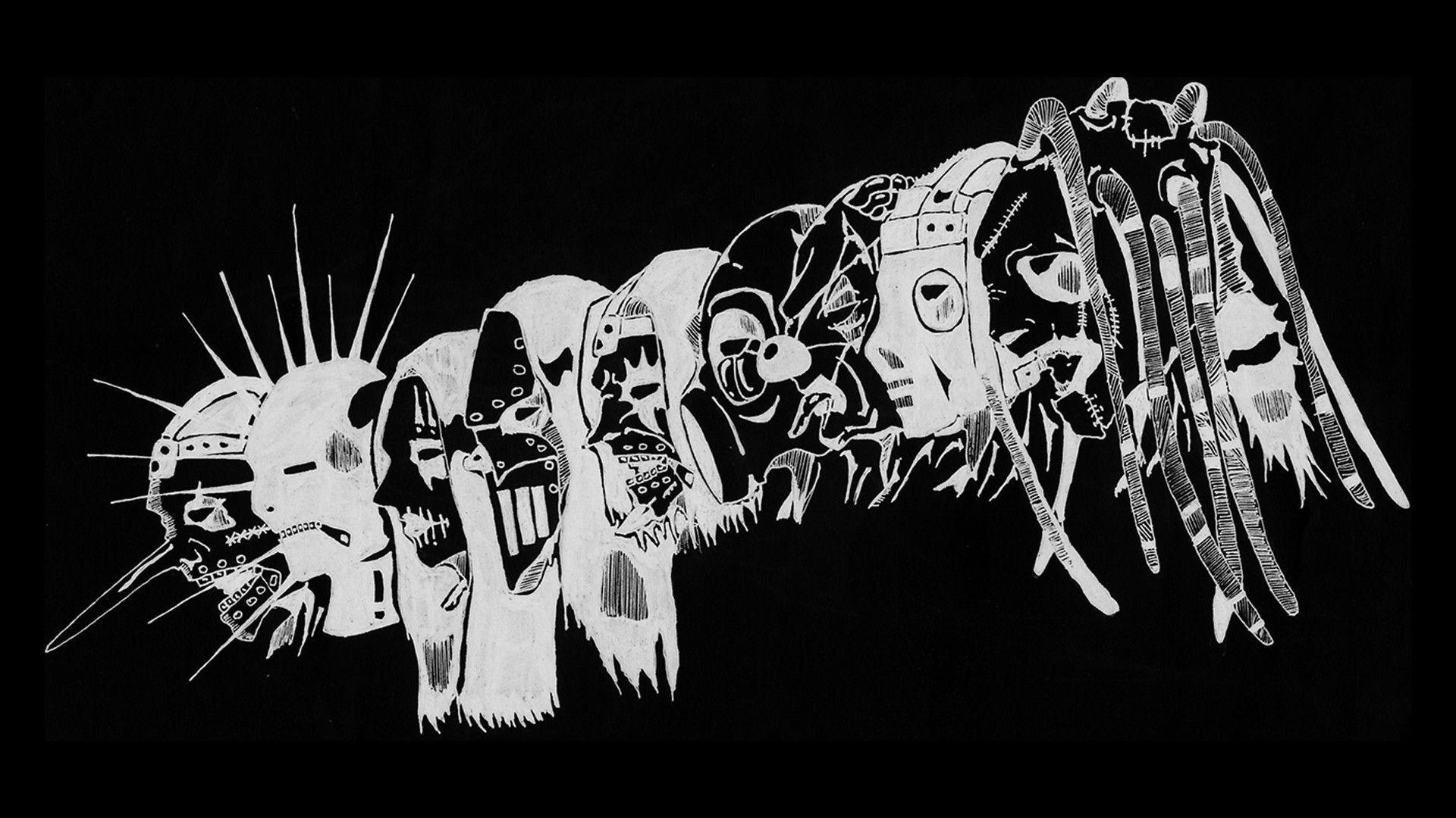 metal, metal music, Slipknot 2