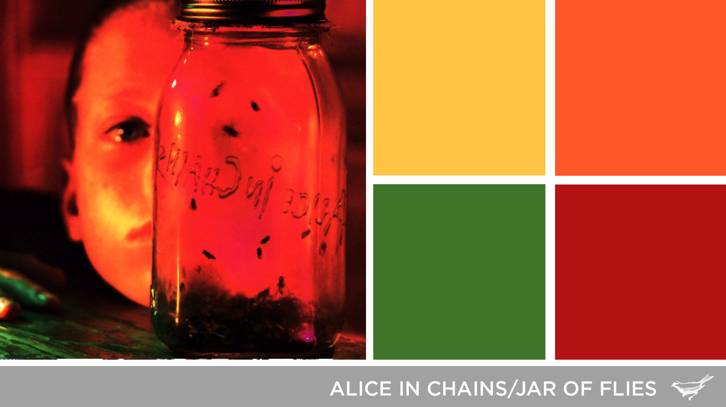 Sound in Color: Alice in Chains-Jar of Flies | The Design Inspirationalist