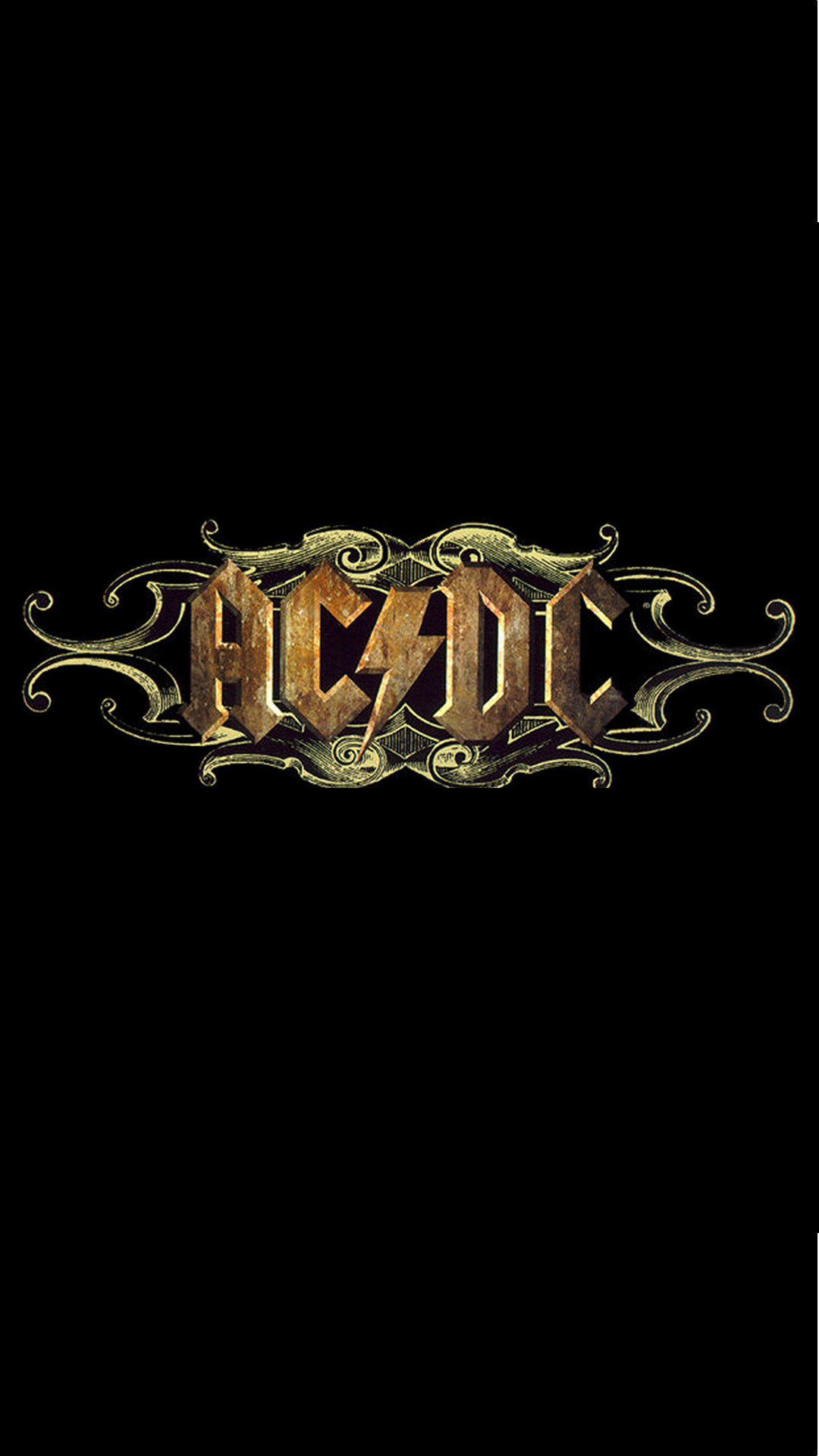 ACDC Rock Band Logo iPhone 6 Plus HD Wallpaper …