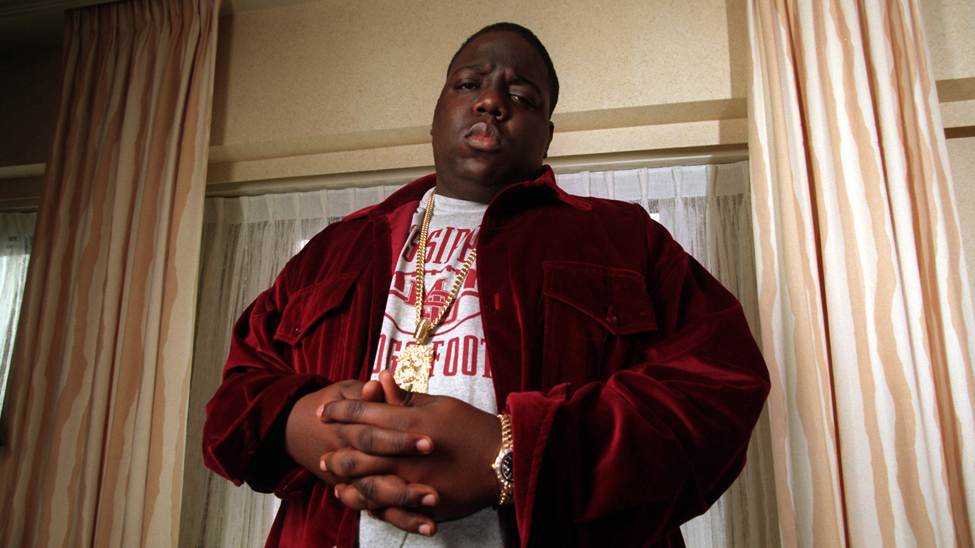 The Notorious B.I.G. backdrop wallpaper