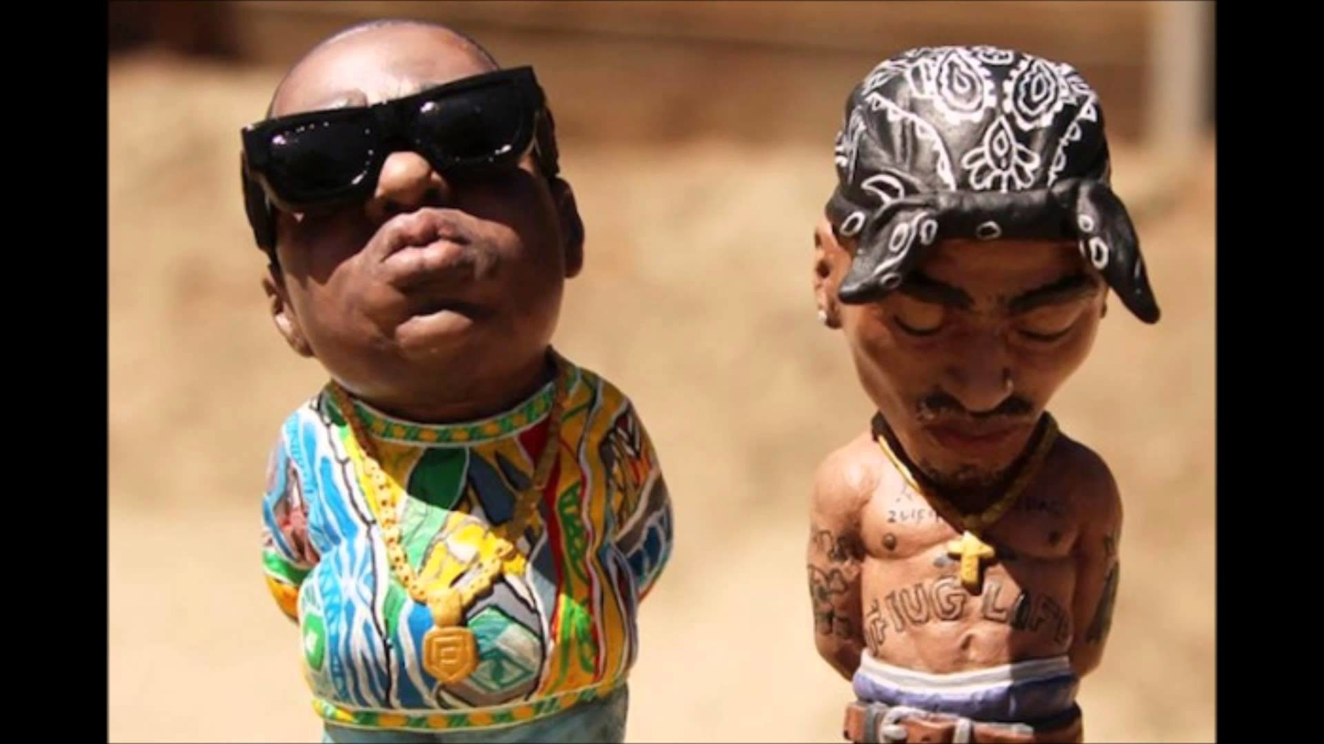 2Pac & Notorious B.I.G. freestyle together new mix 2016