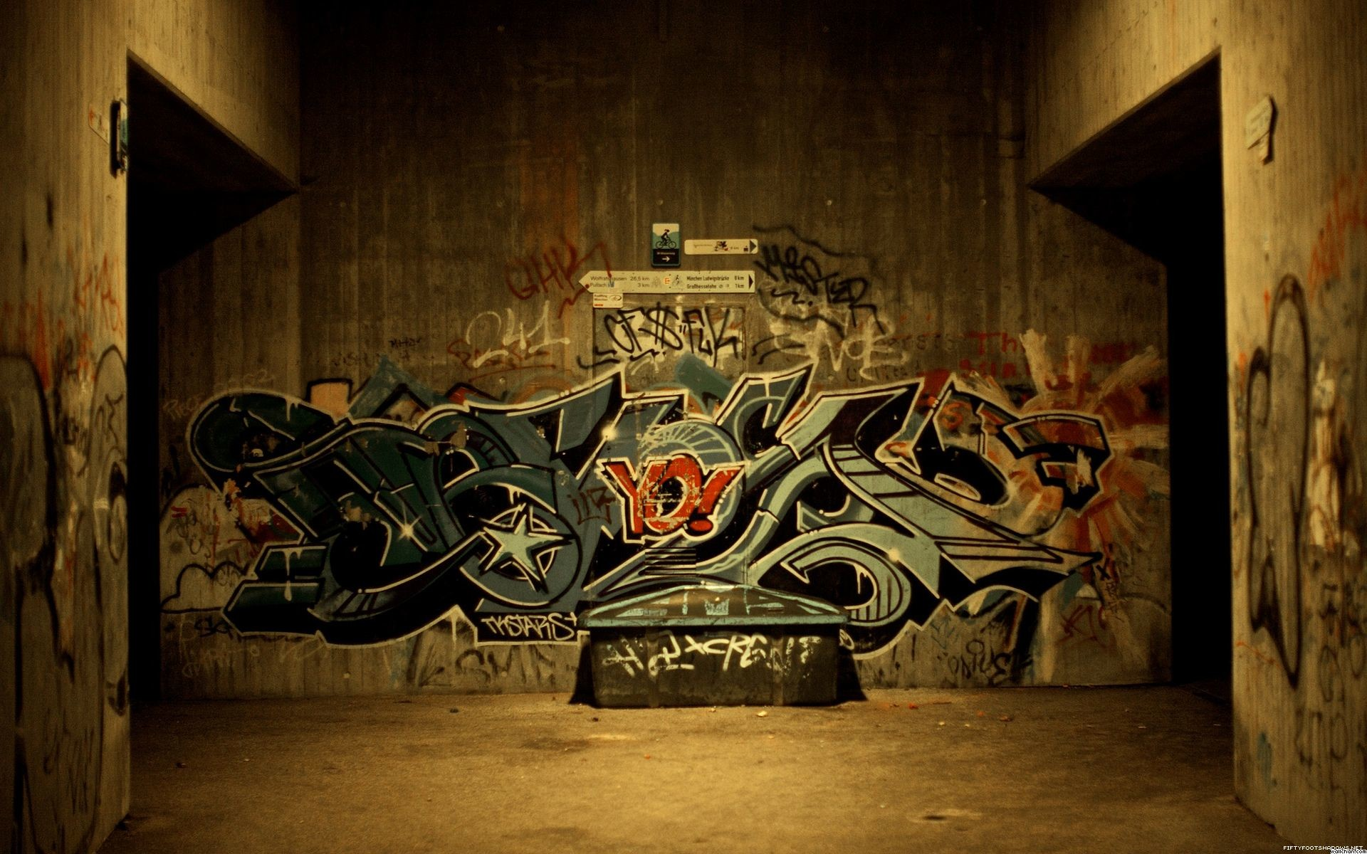 Hip Hop Graffiti Free Unique Wallpaper | Full HD Wallpapers .