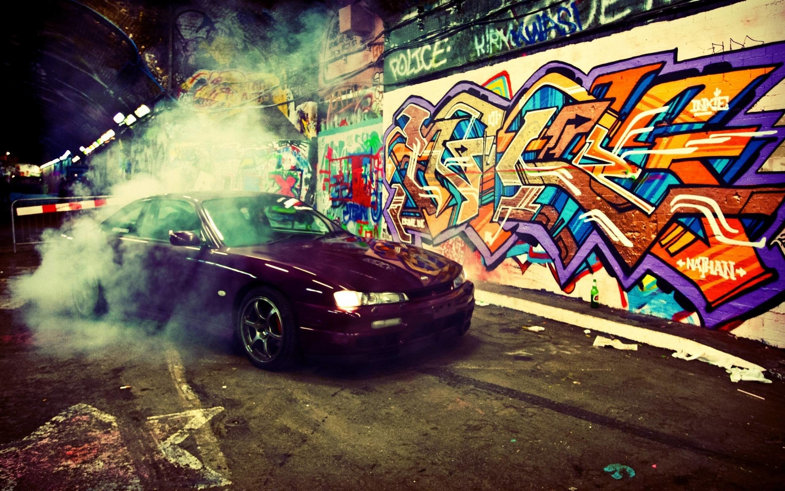 Cars-Smoke-Graffiti-Wallpaper graffiti wallpaper HD free .