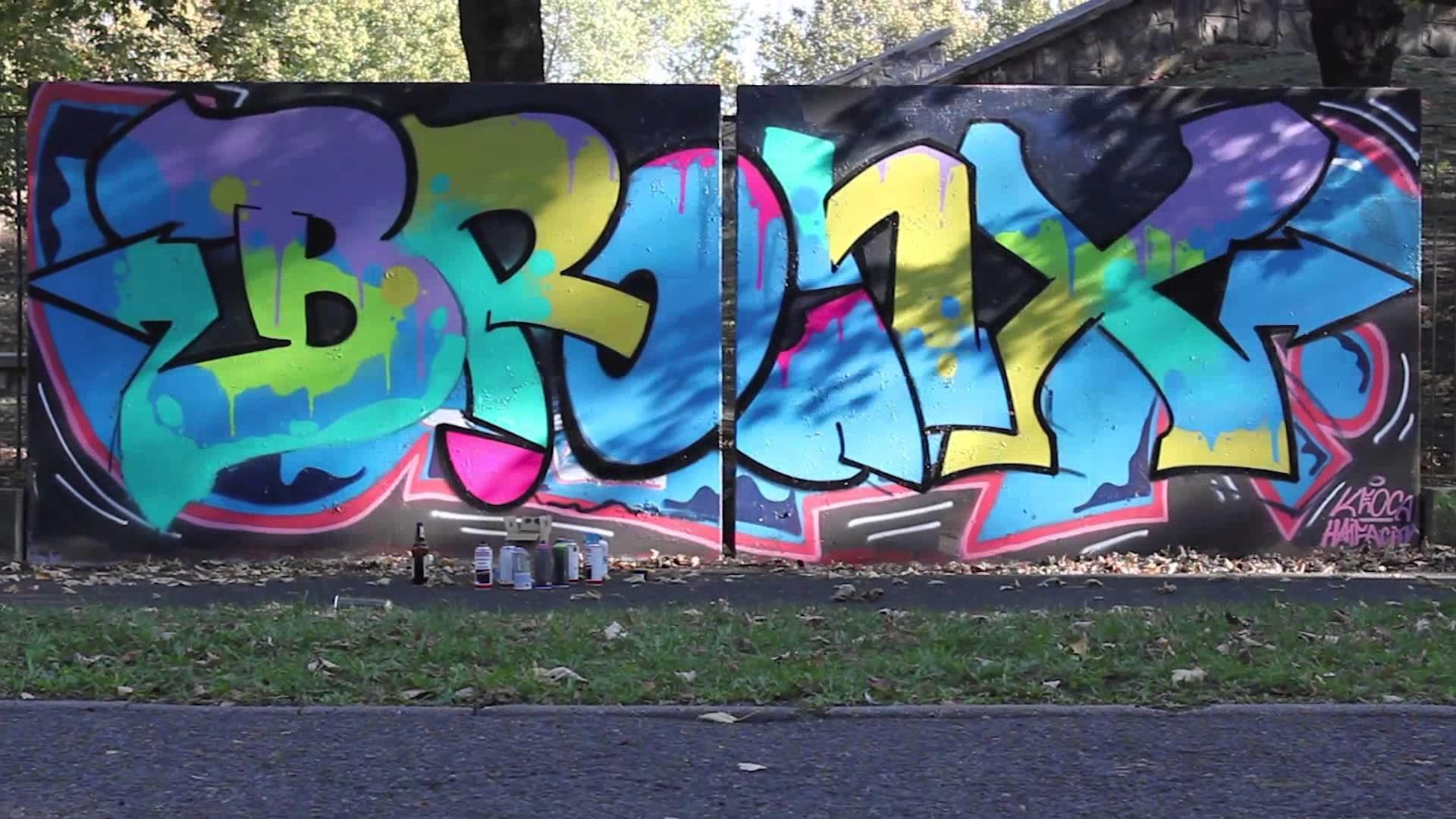 BRONX HIP HOP FESTIVAL – PROMO GRAFFITI