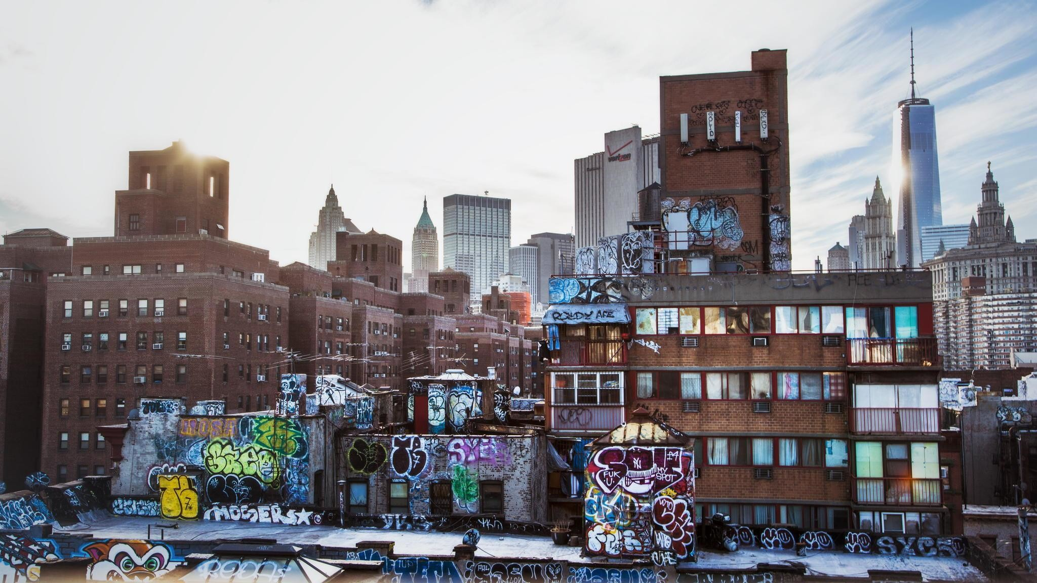 New-york-city-urban-layers-graffiti-wallpaper-download-