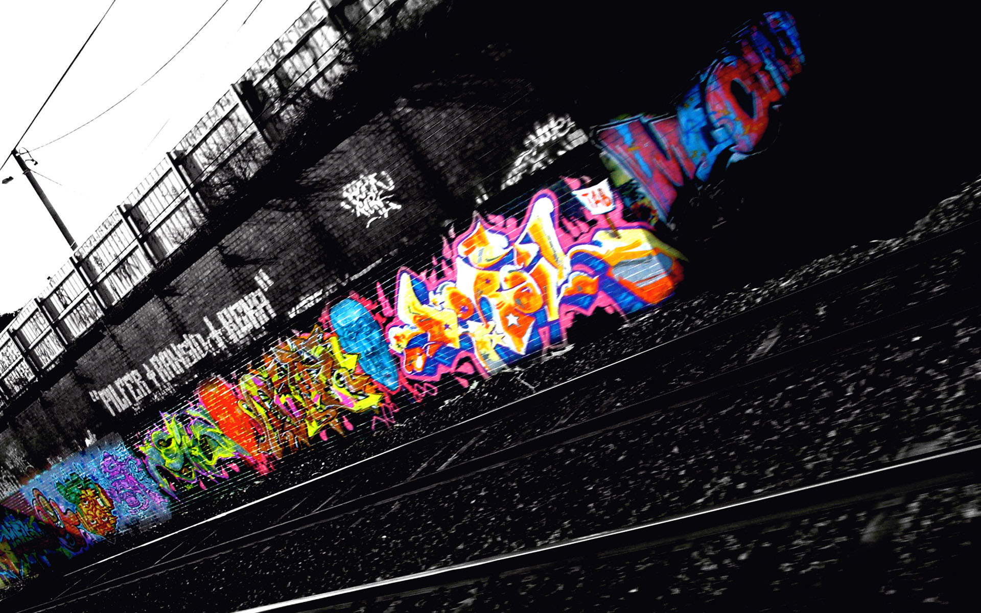 Graffiti Computer Wallpapers, Desktop Backgrounds | | ID .