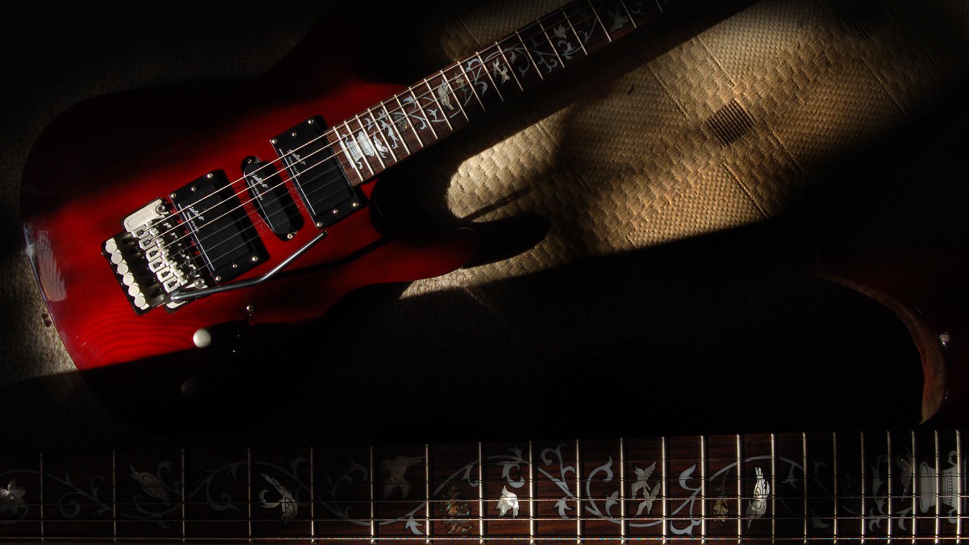 Guitar wallpaper, Shine Sil 62 electric guitar