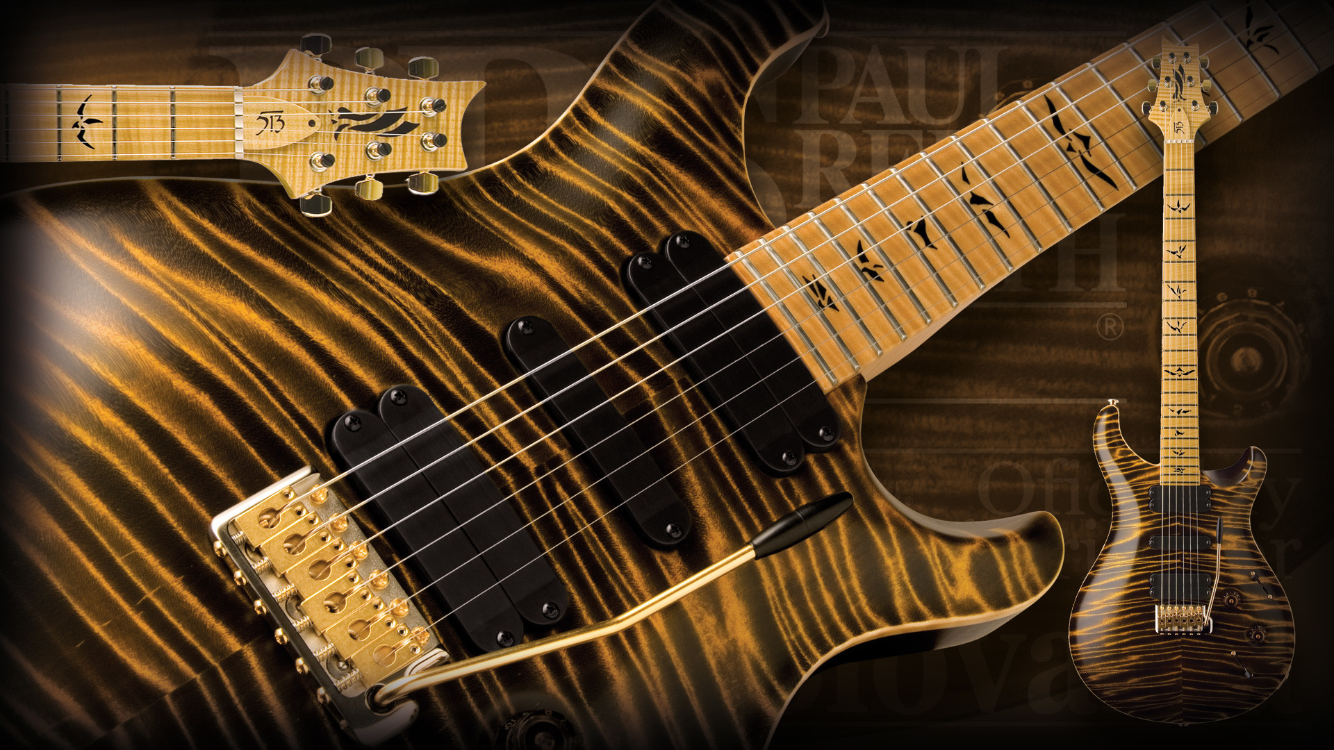 PRS Guitars Wallpapers