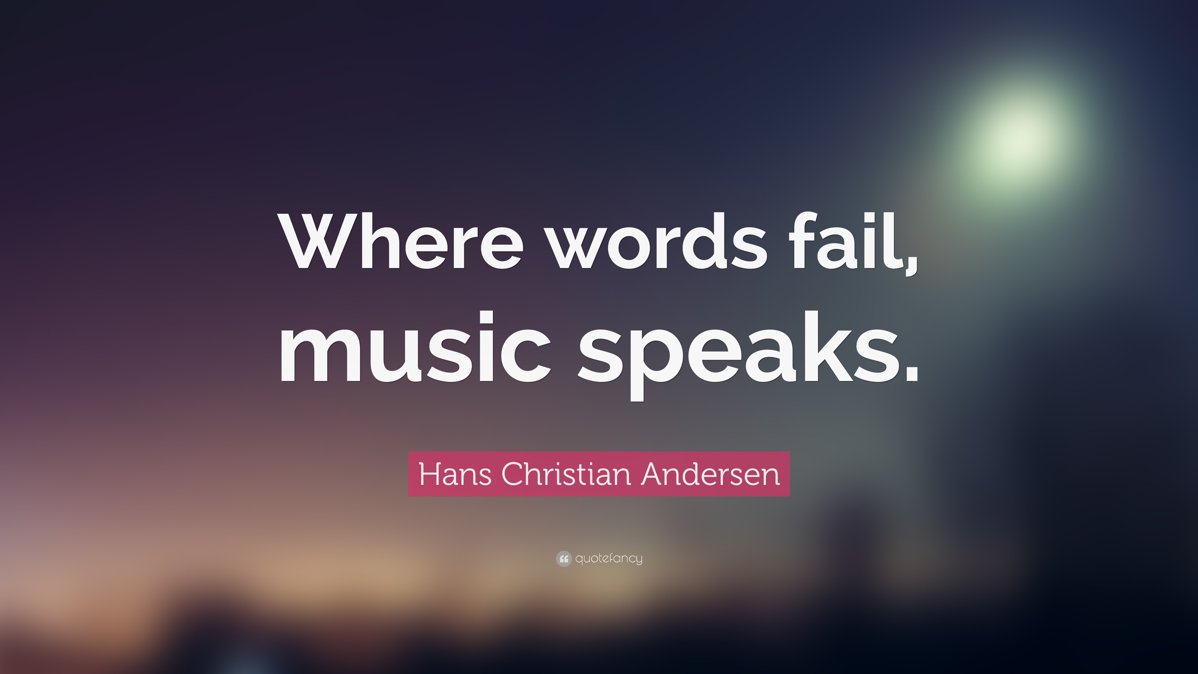 Hans Christian Andersen – 24 inspirational quotes about classical .