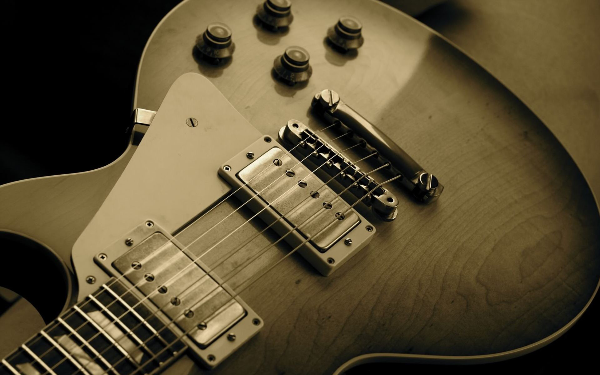 psonst: Guitar Wallpaper Widescreen Gibson Images