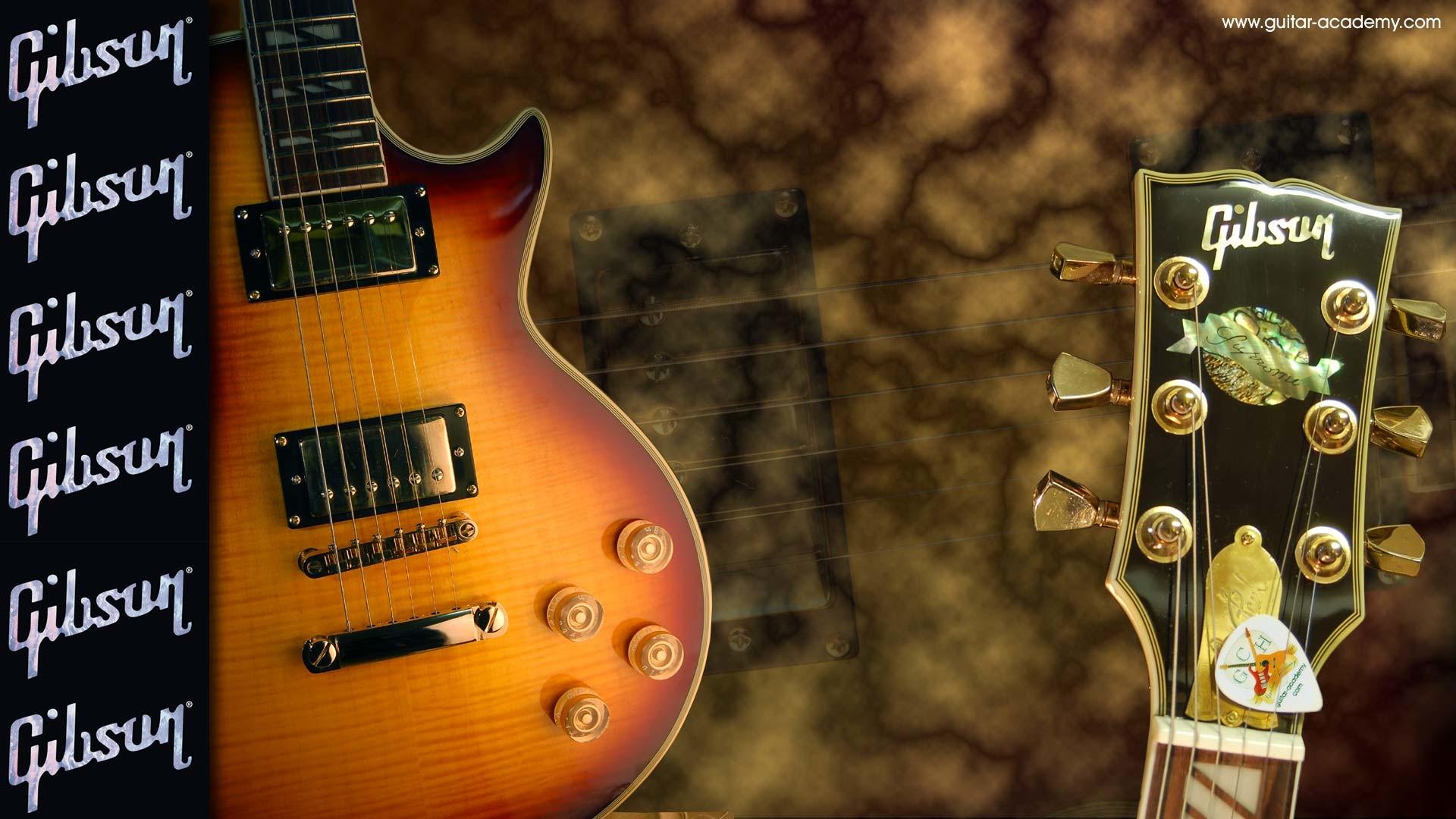 Guitar wallpaper, Gibson Les Paul supreme guitar