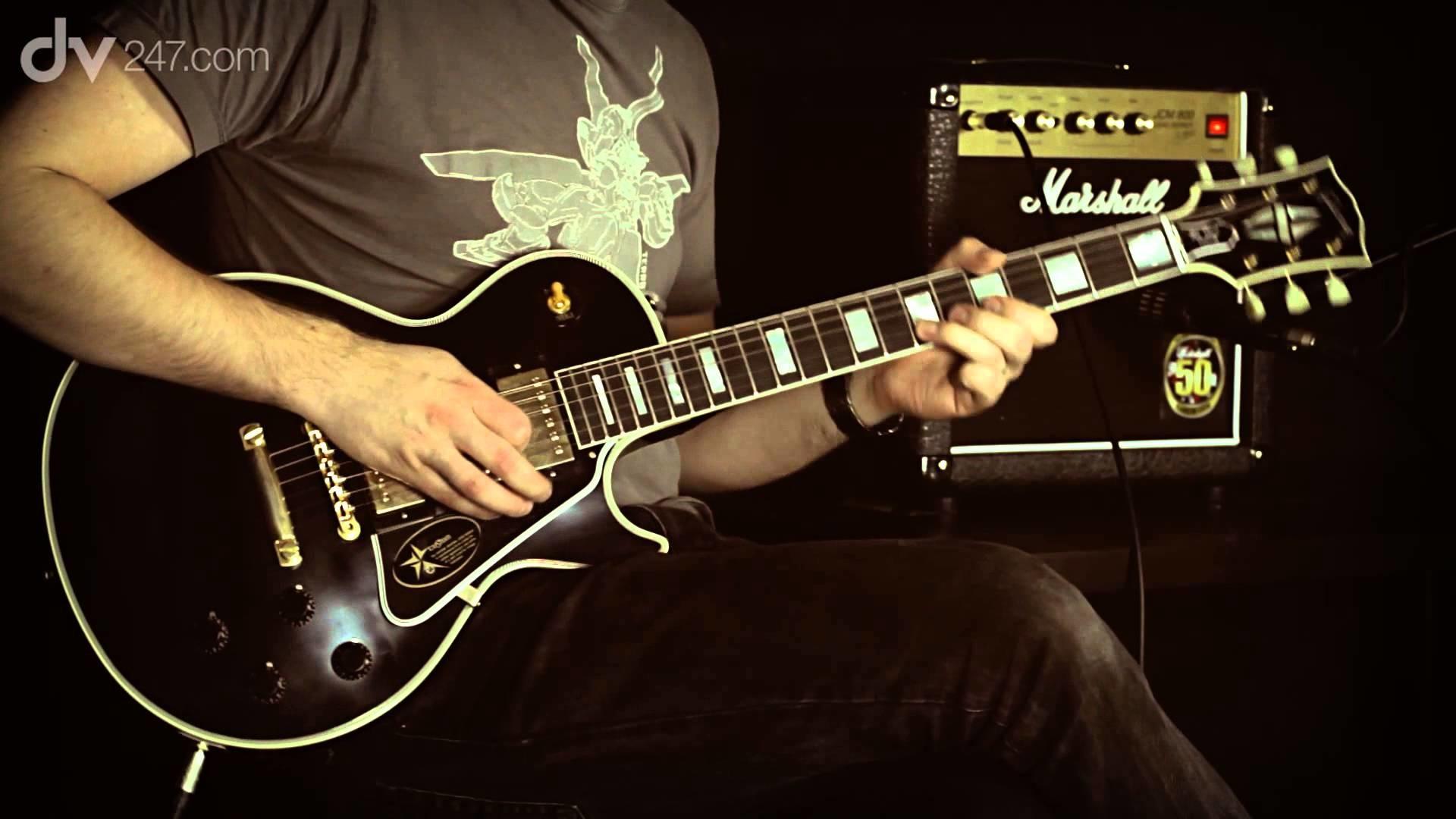 Gibson 1957 Les Paul Custom 3 Pickup VOS Electric Guitar Tone Demo – YouTube
