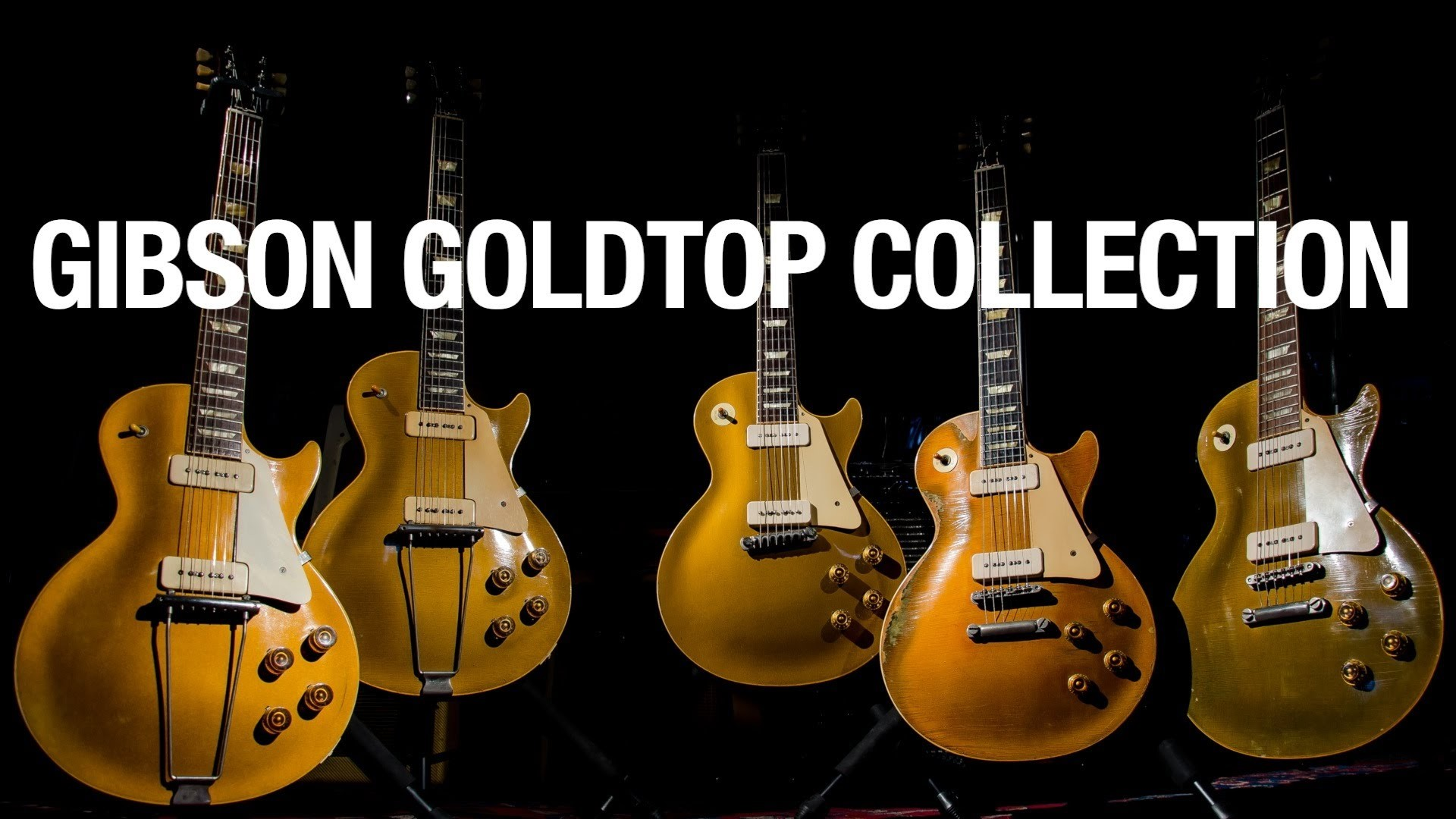 The Gibson Goldtop Collection (The Evolution of the Les Paul) – YouTube