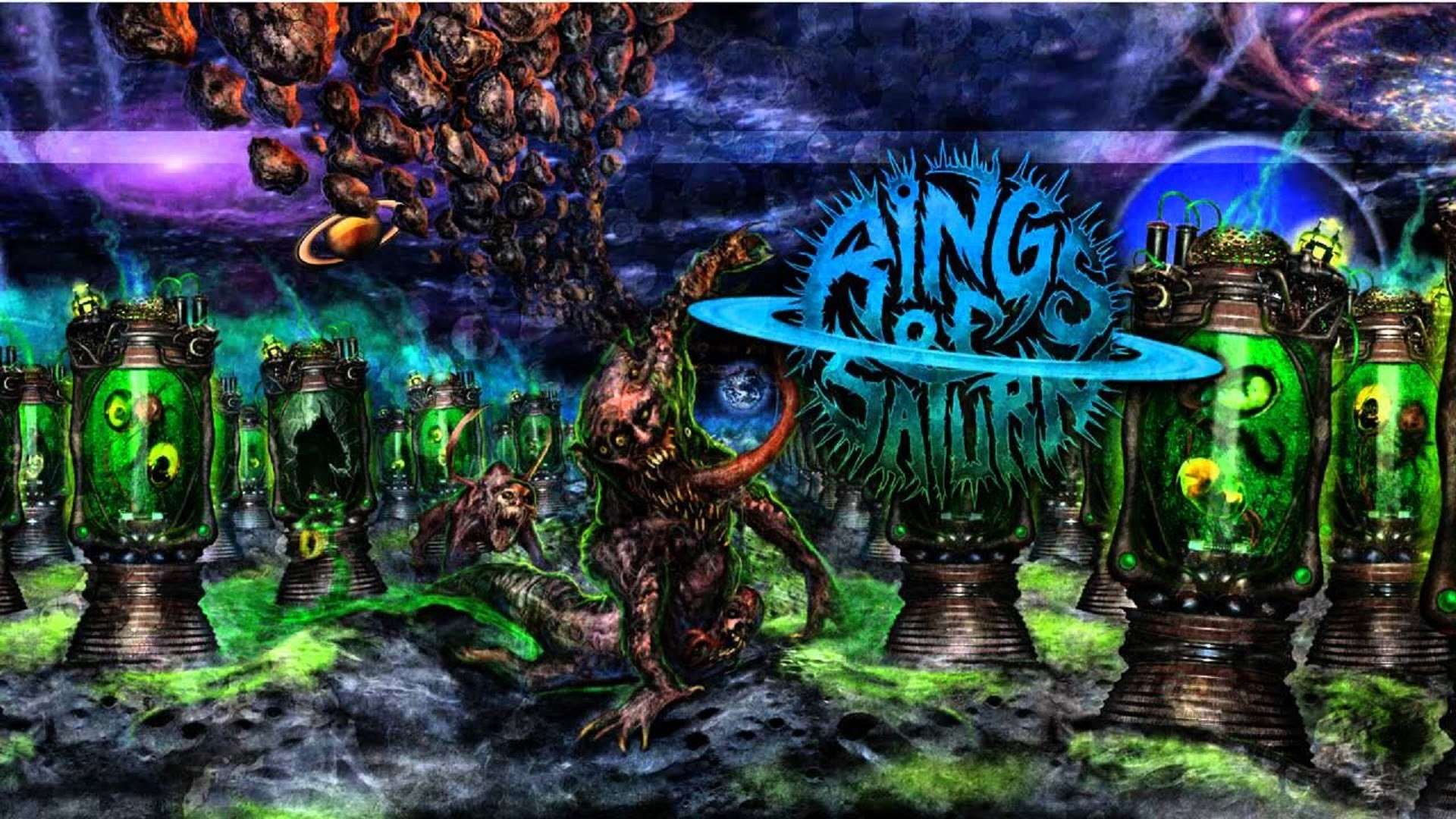 Rings Of Saturn – Embryonic Anomaly (Cover)