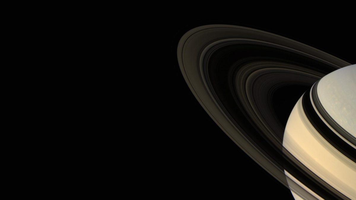 Rings Of Saturn Band Wallpaper