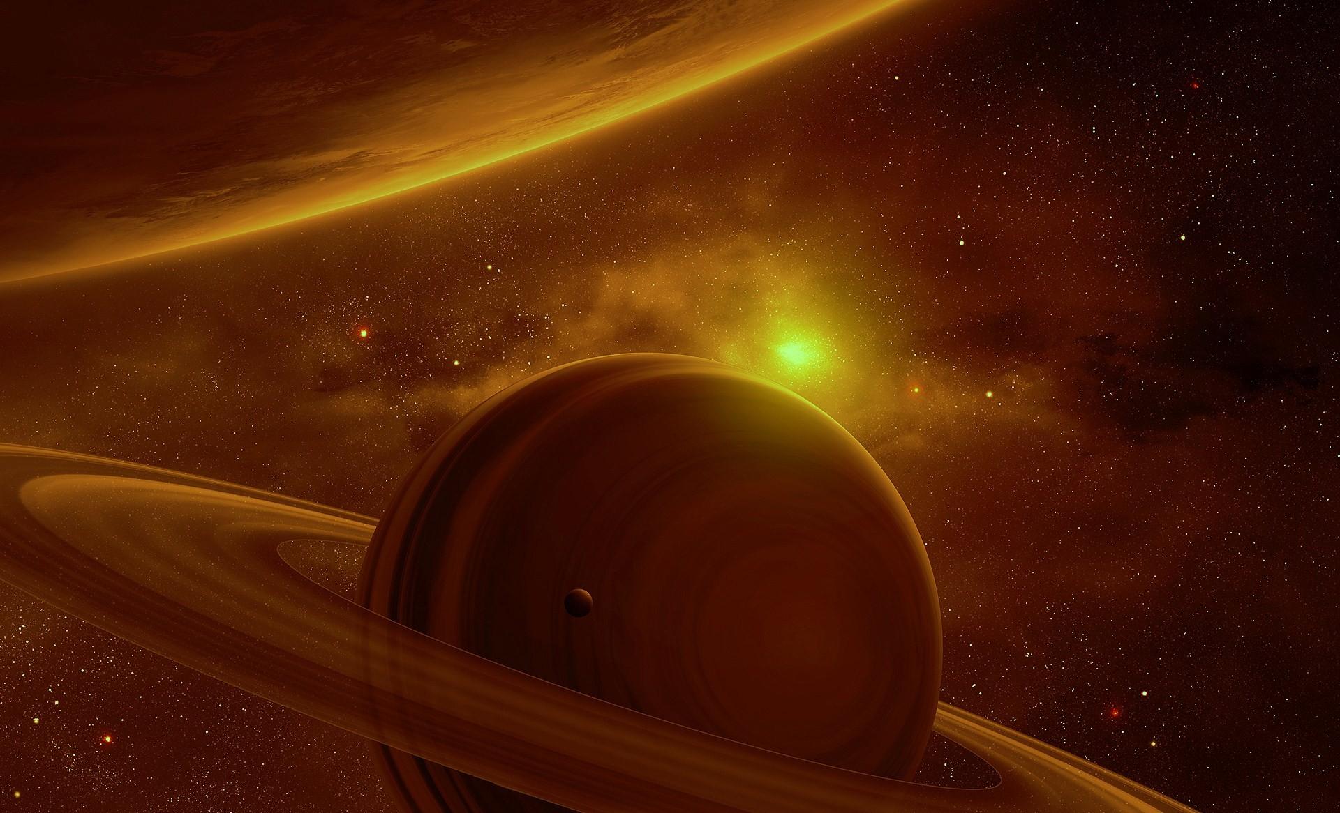 Calm Saturn View by QAuZ Calm Saturn View by QAuZ