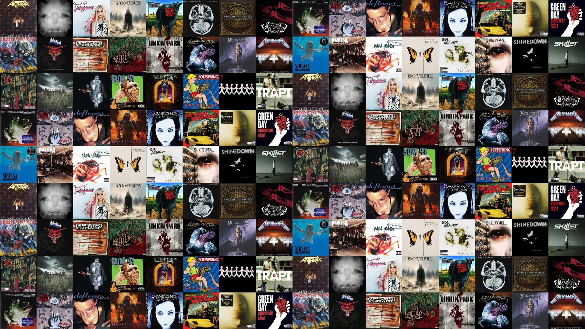 Anthrax Among The Living Avenged Sevenfold Waking Fallen Wallpaper