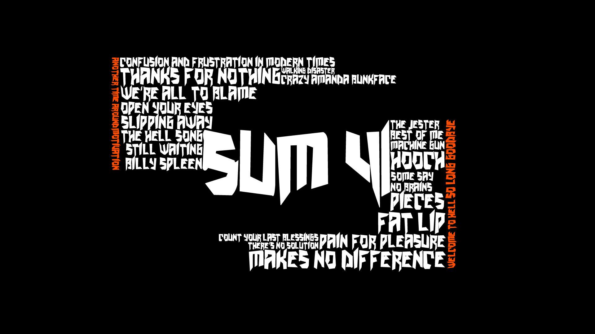 Sum 41 HD Wallpaper Sum …