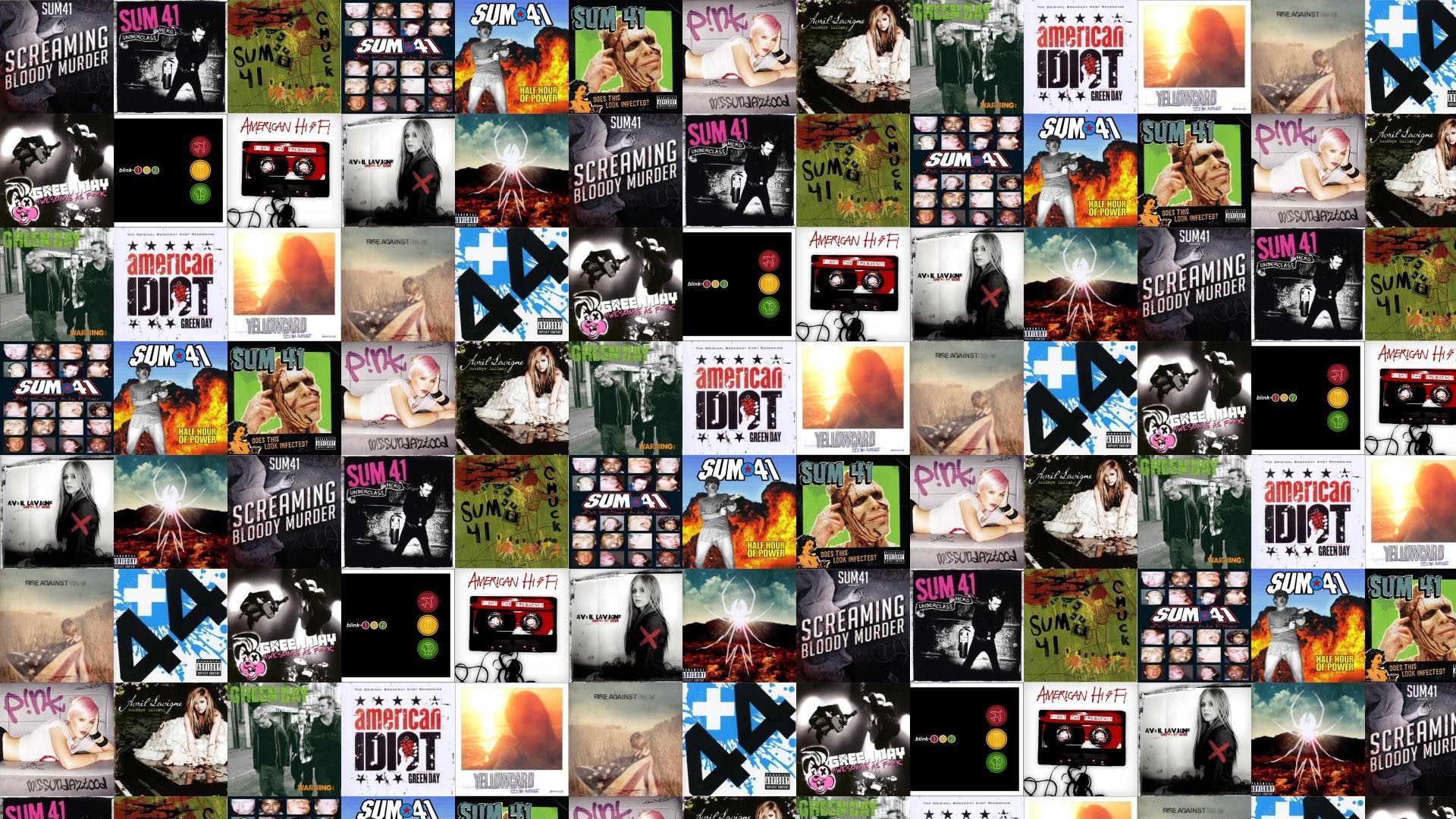 Sum 41 Screaming Bloody Murder Underclass Hero Chuck Wallpaper Â« Tiled  Desktop Wallpaper