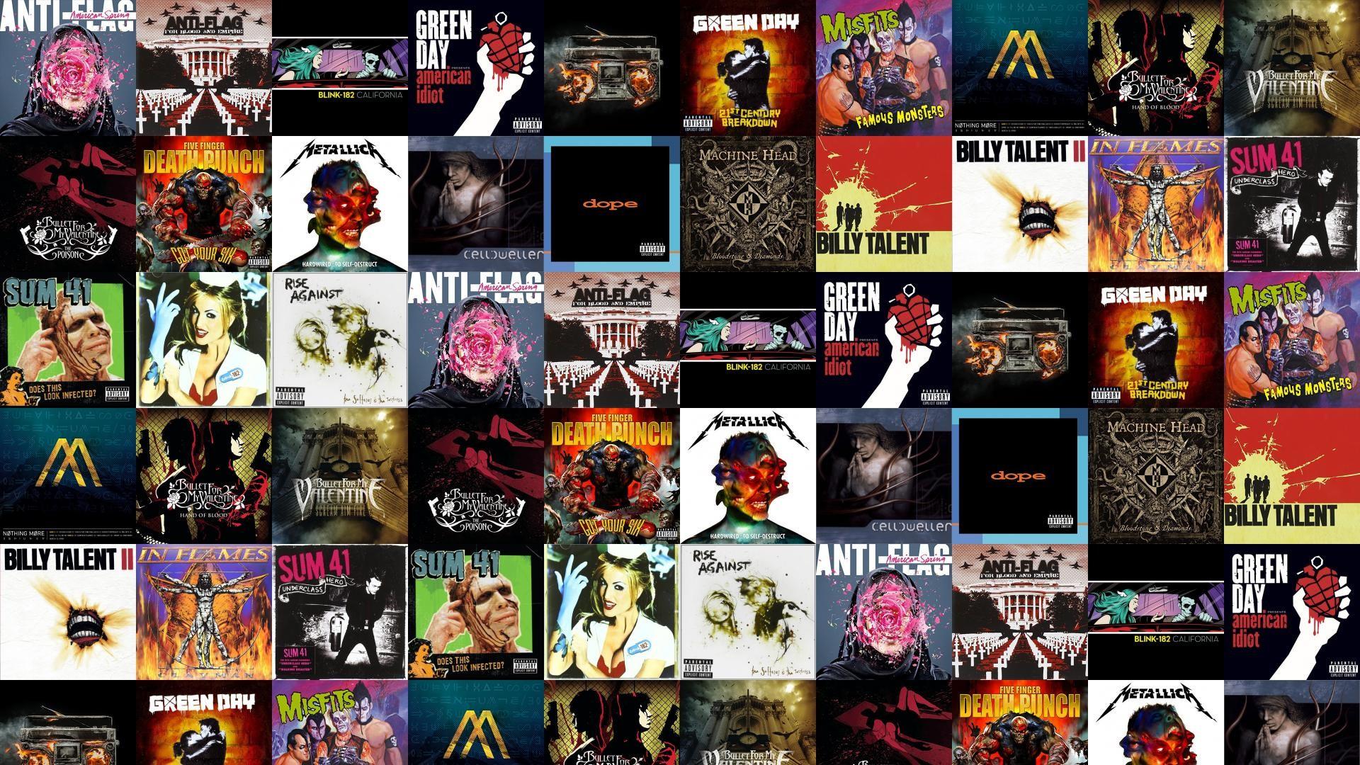 Anti-Flag For Blood Empire Blink 182 California Wallpaper