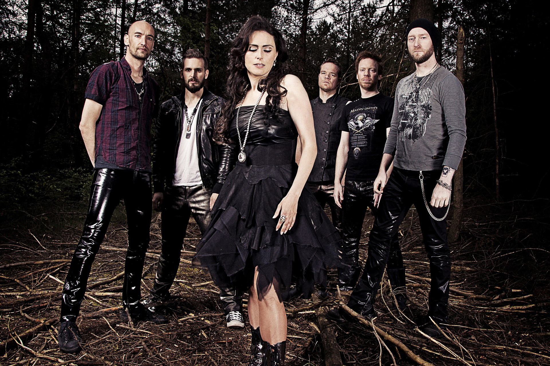 Within Temptation band wallpaper