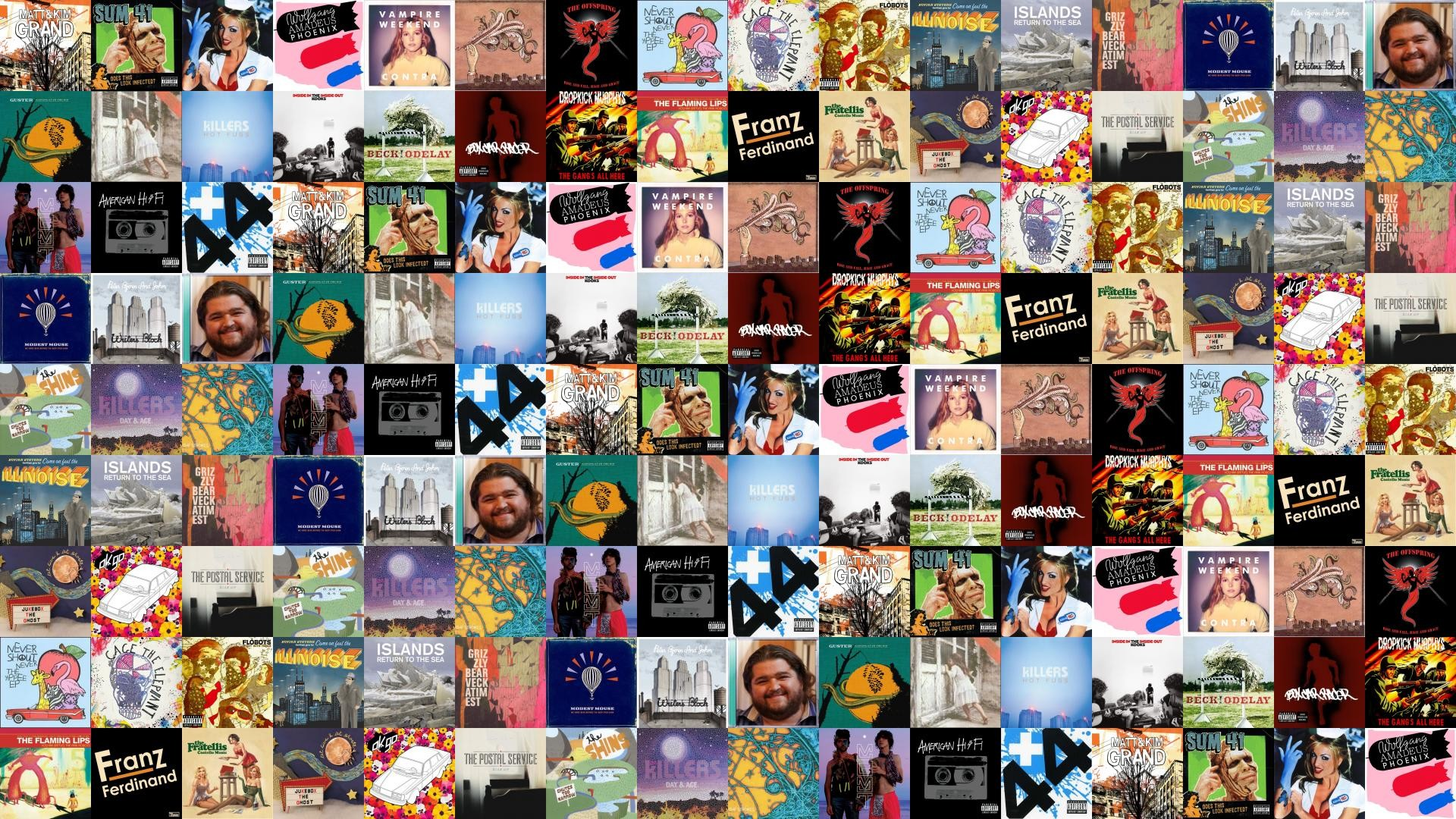 Matt Kim Grand Sum 41 Does This Look Wallpaper Â« Tiled Desktop Wallpaper