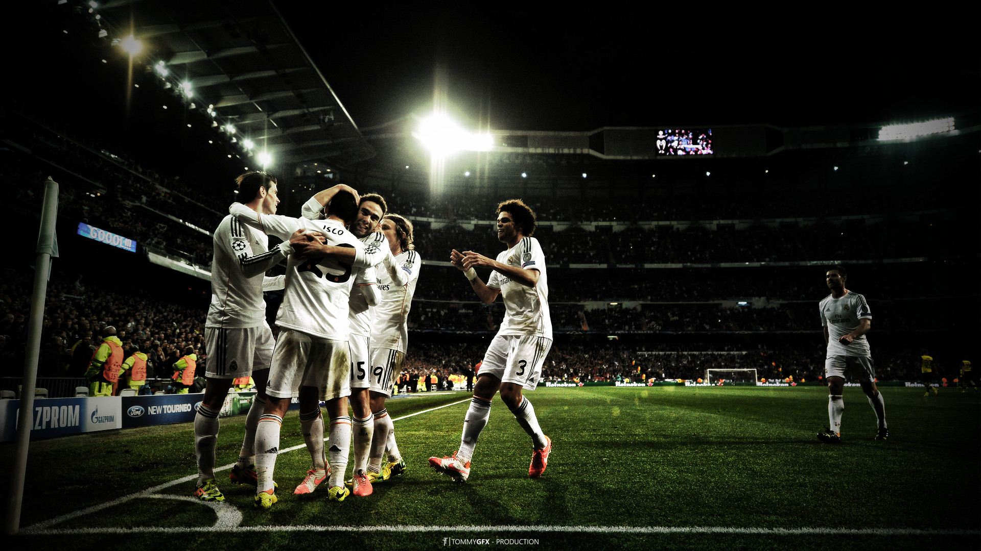 """Real Madrid C.F. """"We're all white"""" Wallpaper, you like it?"""