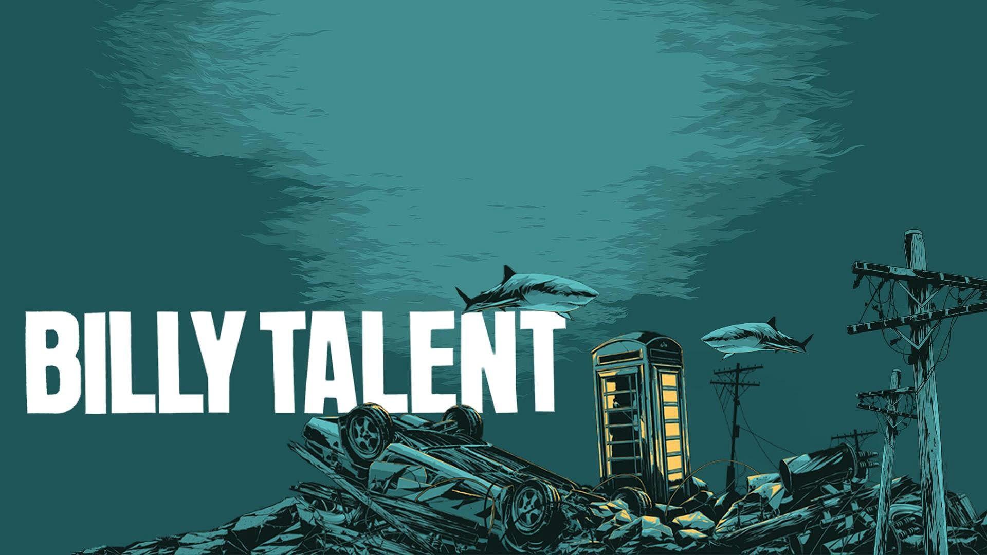 BILLY TALENT punk rock hardcore alternative 1billytalent canadian poster  shark wallpaper | | 573922 | WallpaperUP
