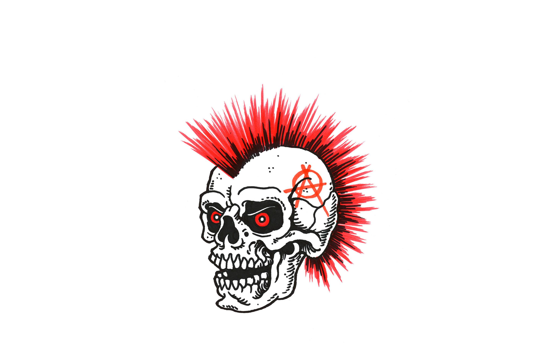 Punk skull Wallpaper #37496