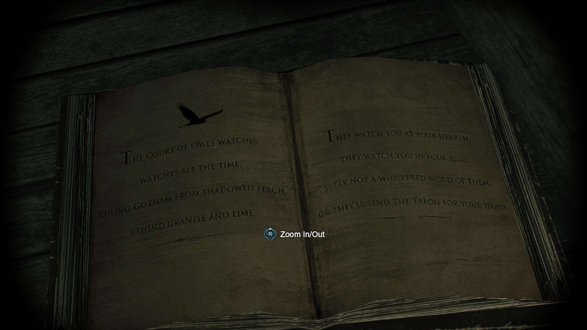 Re: Would Court of Owls make a better Secret Mission ?
