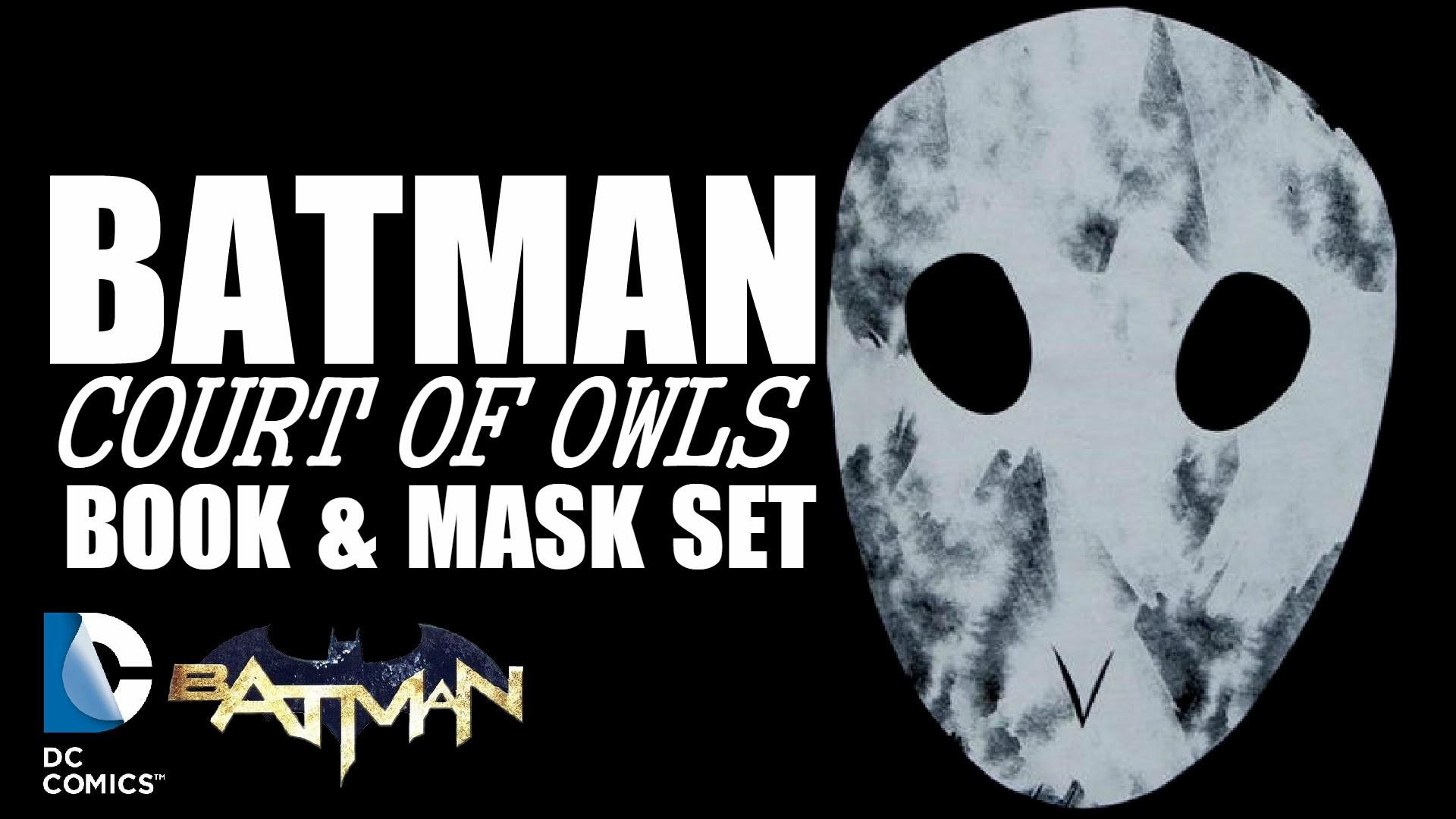 Batman: Court of Owls Book & Mask Set Review