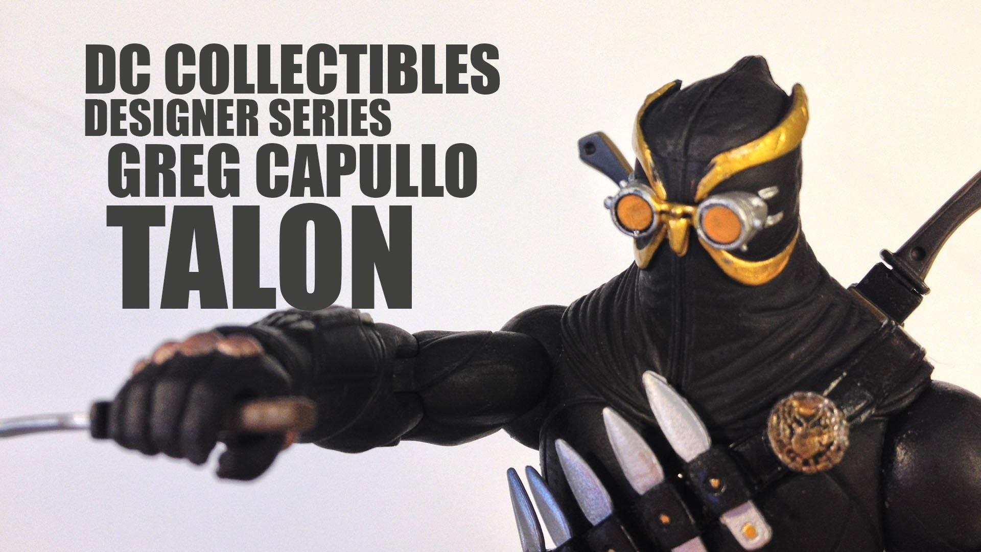 DC Collectibles Designer Series Greg Capullo Talon Figure Review. – YouTube