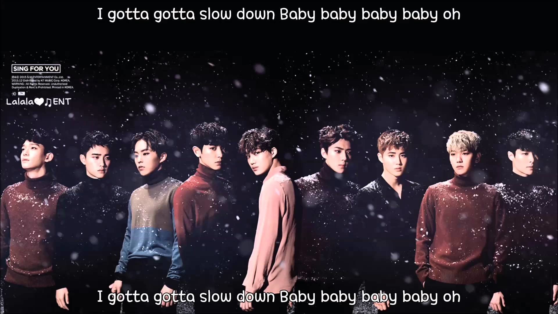 EXO – Unfair (불공평해) (eng sub +romanization + hangul) [HD] Korean Ver.