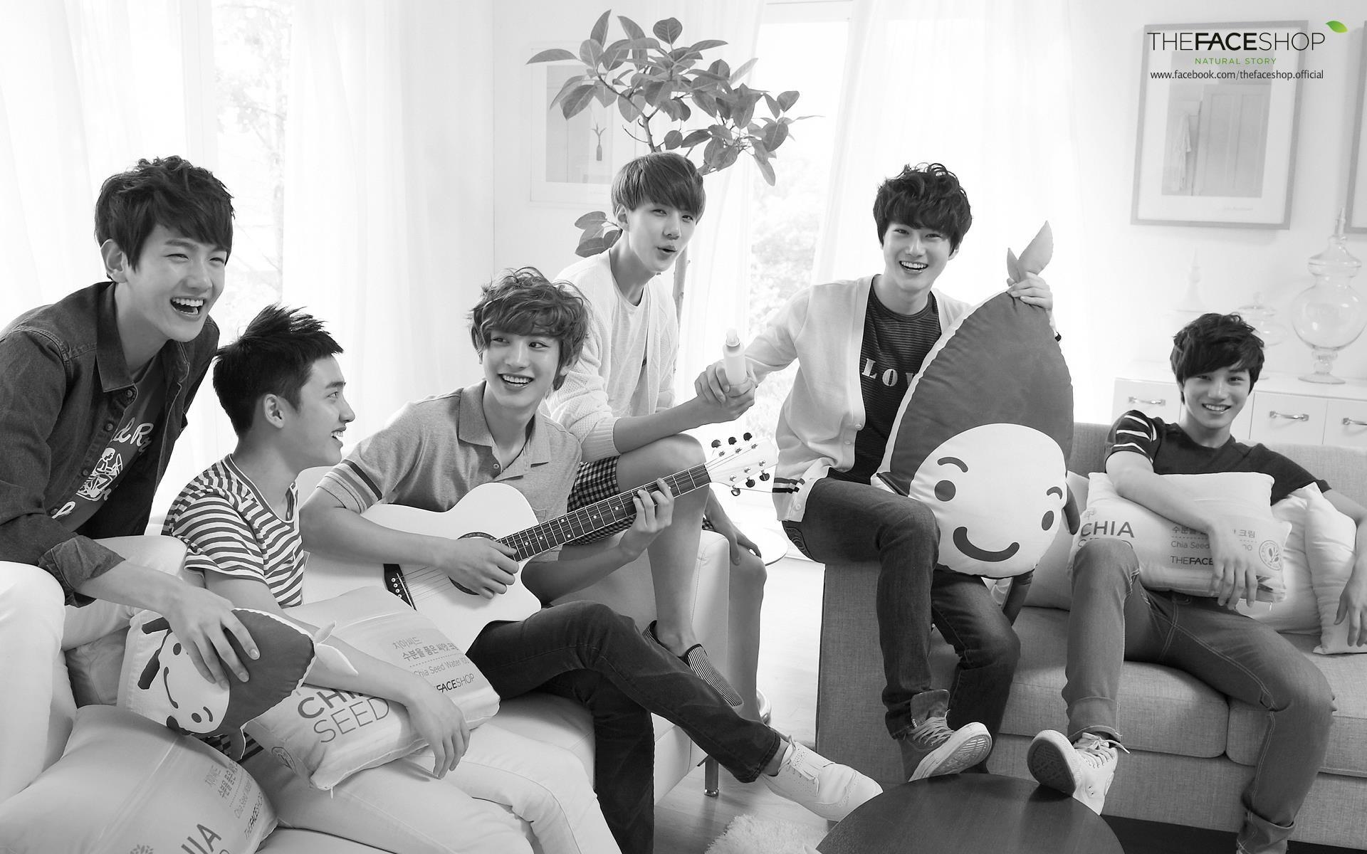 [120630] The Face Shop Official Facebook Update: EXO-K | ExoBear